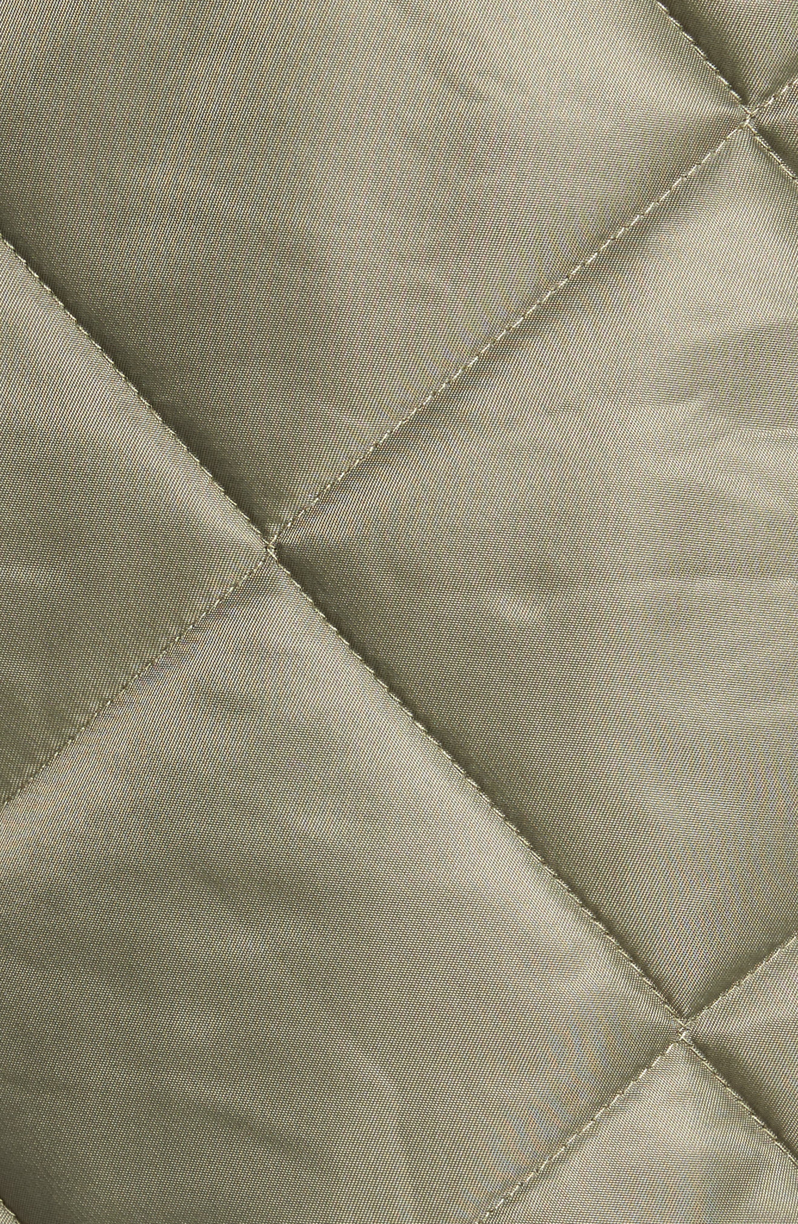 Quilted Bomber Jacket,                             Alternate thumbnail 6, color,                             315