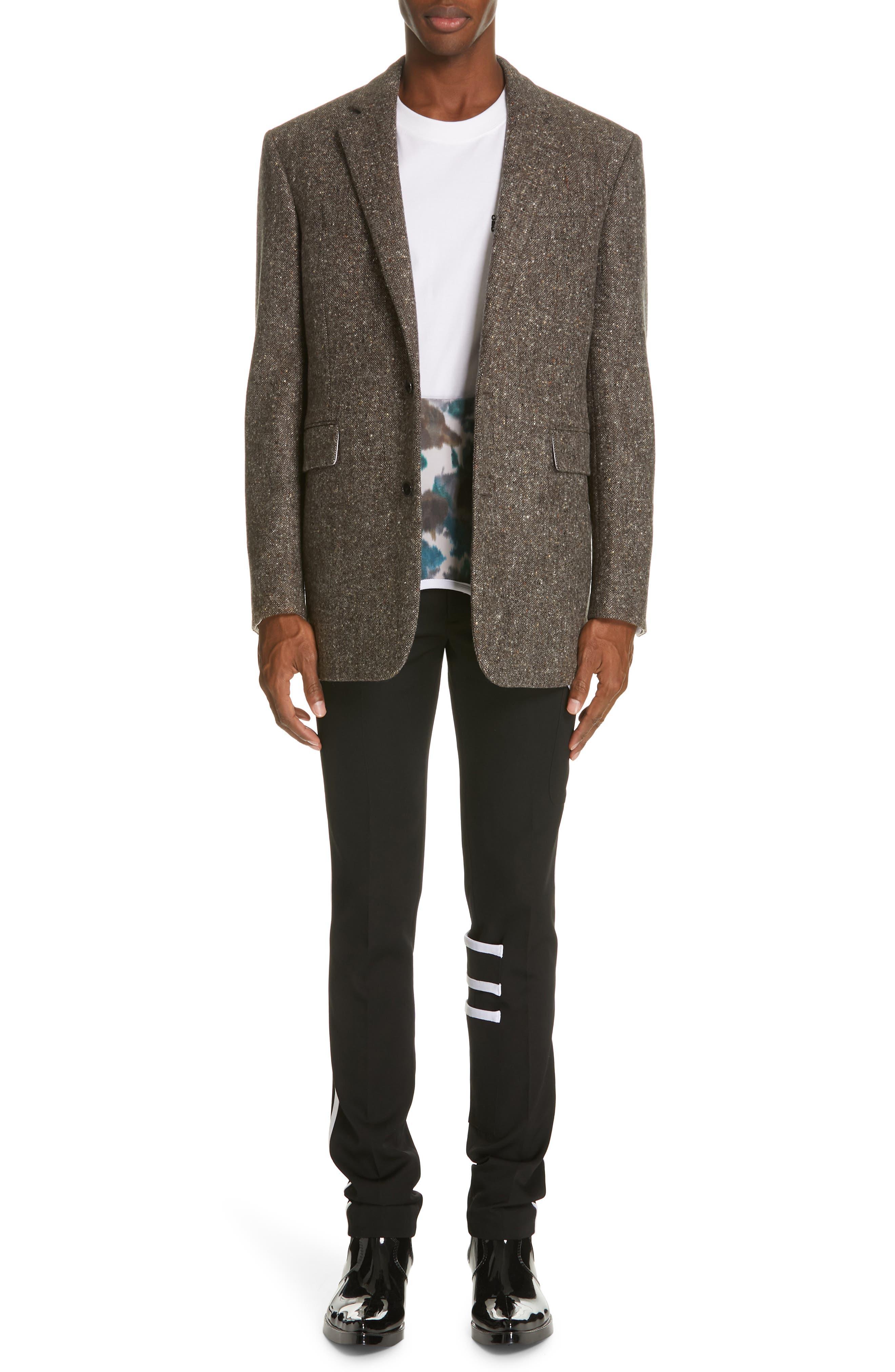 Tweed Wool Jacket,                             Alternate thumbnail 7, color,                             030