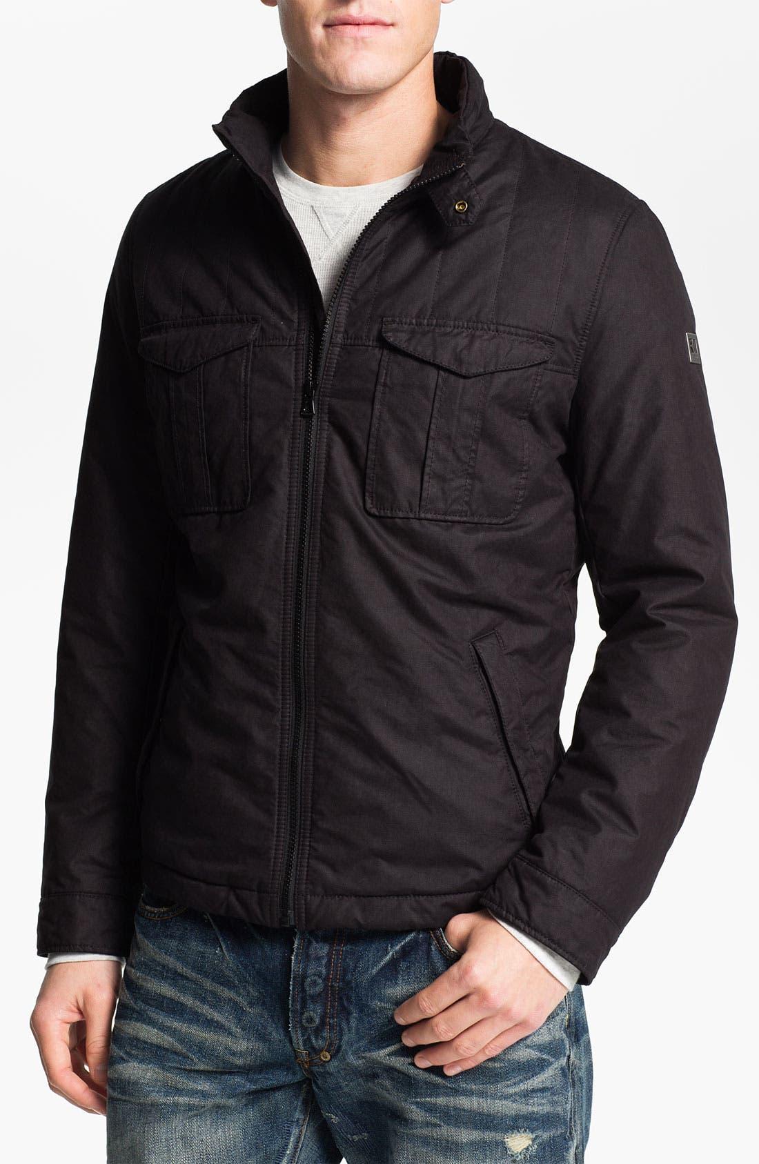 BOSS ORANGE 'Onso' Jacket, Main, color, 001