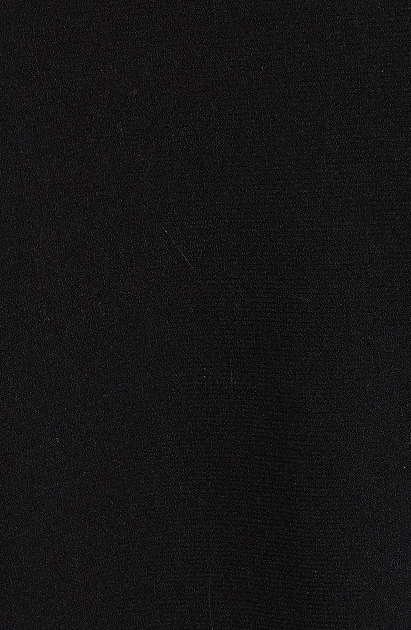 Ottoman Stripe Pullover,                             Alternate thumbnail 5, color,                             001