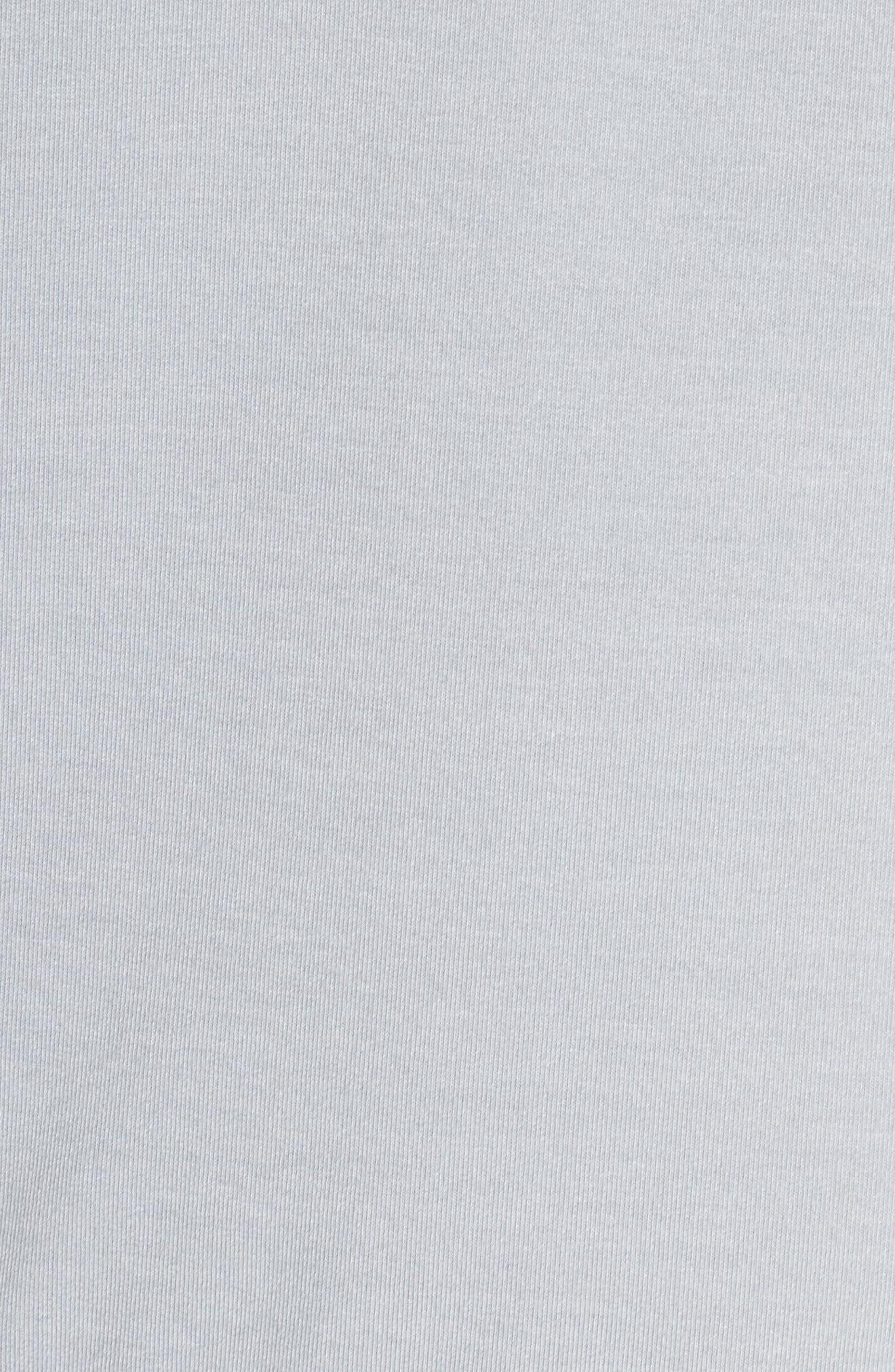 Gather Sleeve Sweatshirt,                             Alternate thumbnail 6, color,                             GREY WOLF