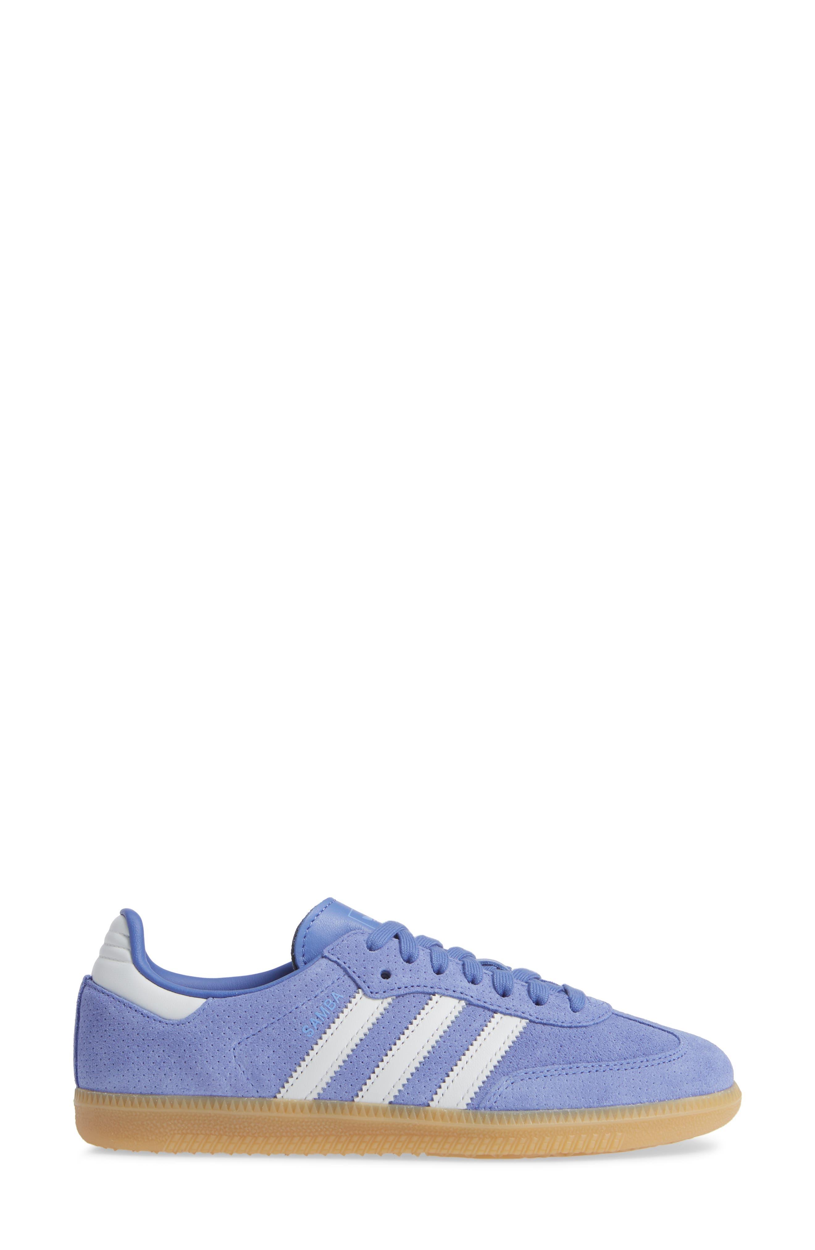 Samba OG Low Top Sneaker,                             Alternate thumbnail 3, color,                             536