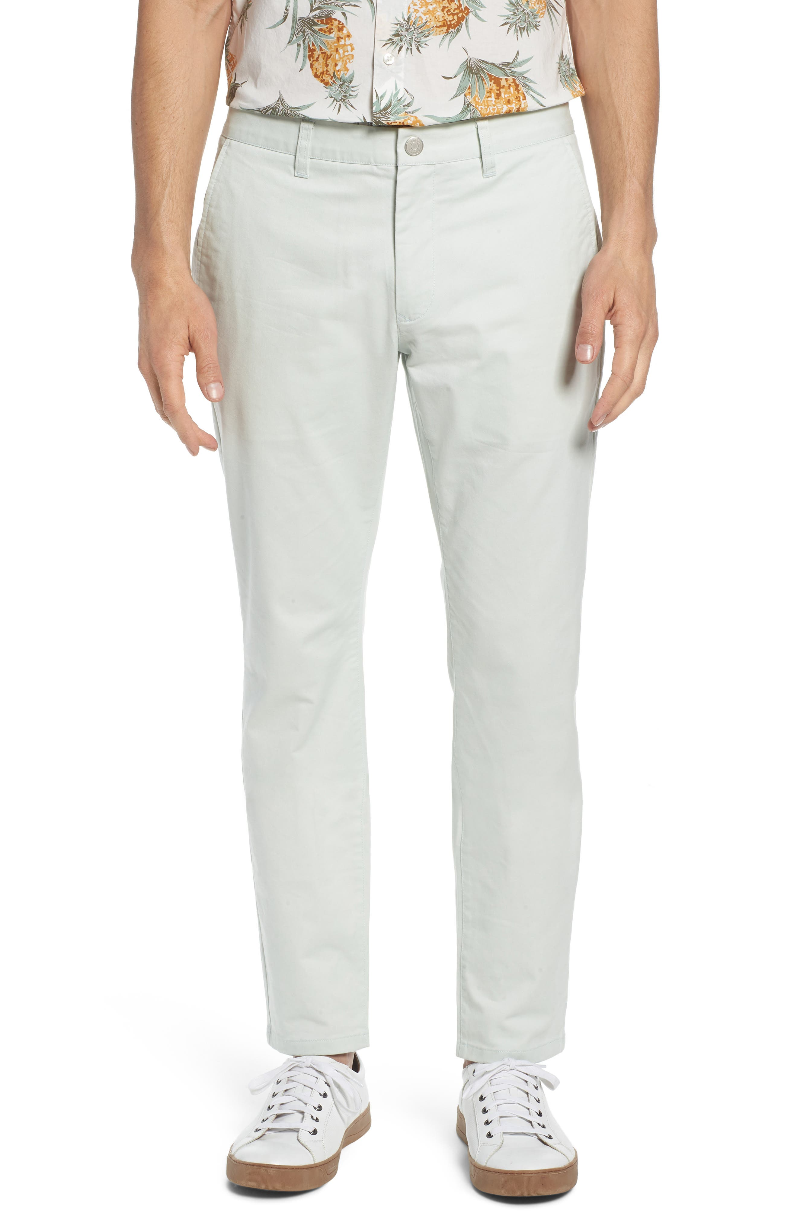 Tailored Fit Washed Stretch Cotton Chinos,                             Main thumbnail 21, color,