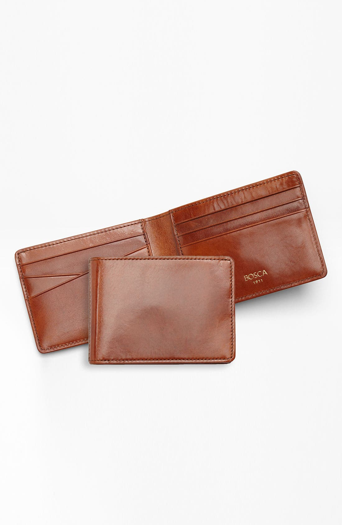 Small Bifold Wallet,                             Alternate thumbnail 2, color,                             AMBER