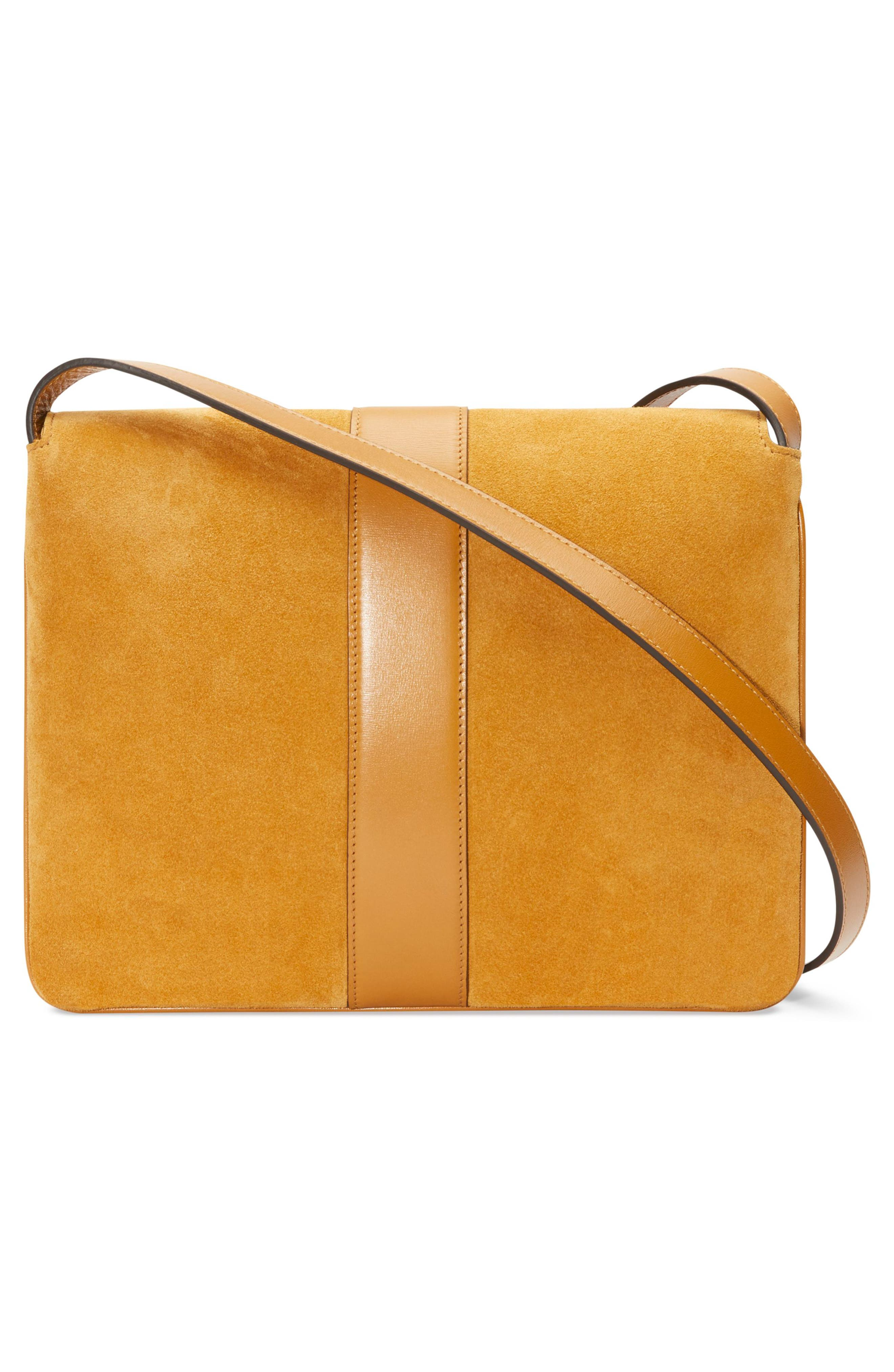 Medium Arli Shoulder Bag,                             Alternate thumbnail 2, color,                             LIGHT COGNAC