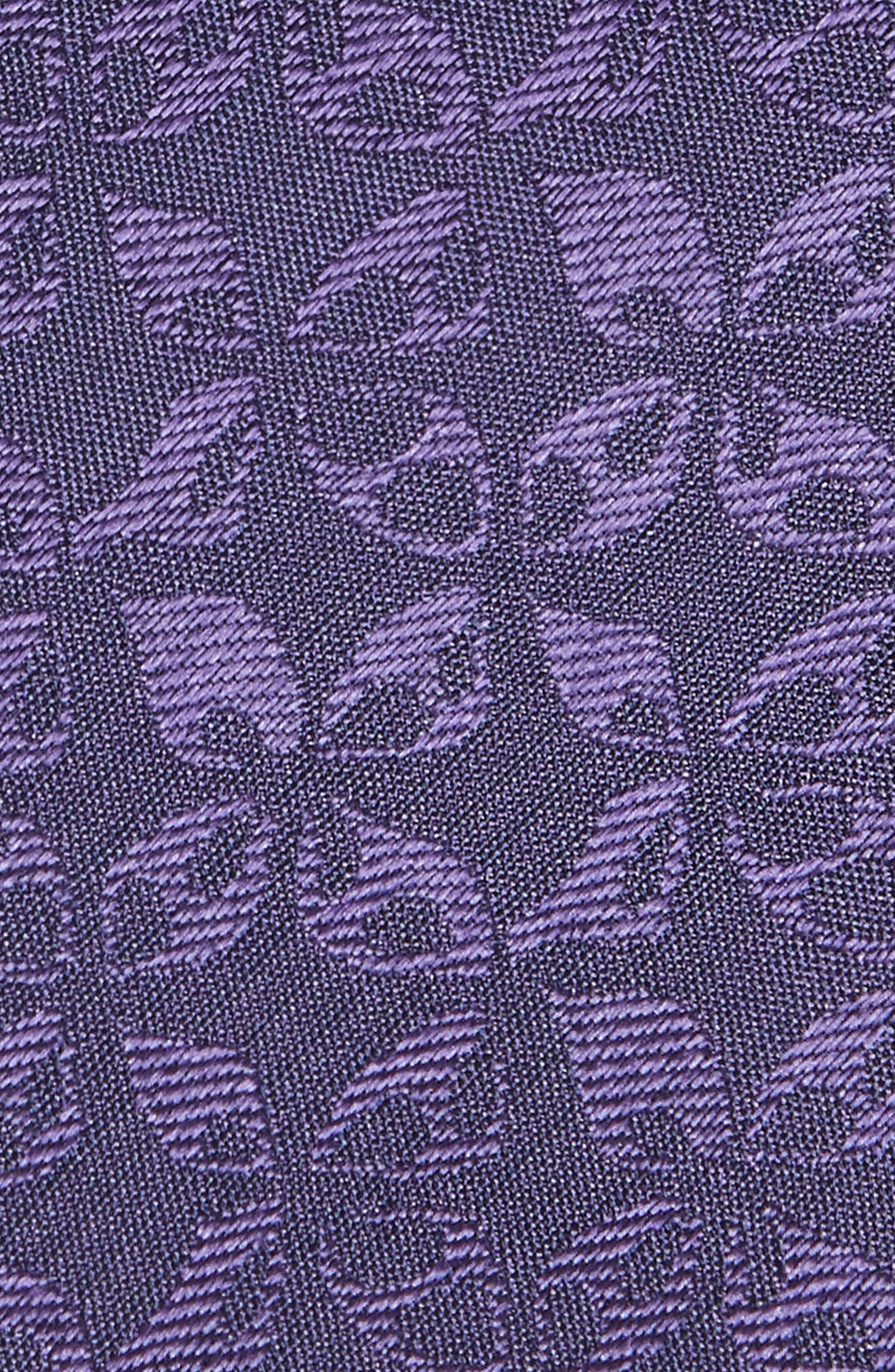 Floral Silk Tie,                             Alternate thumbnail 4, color,