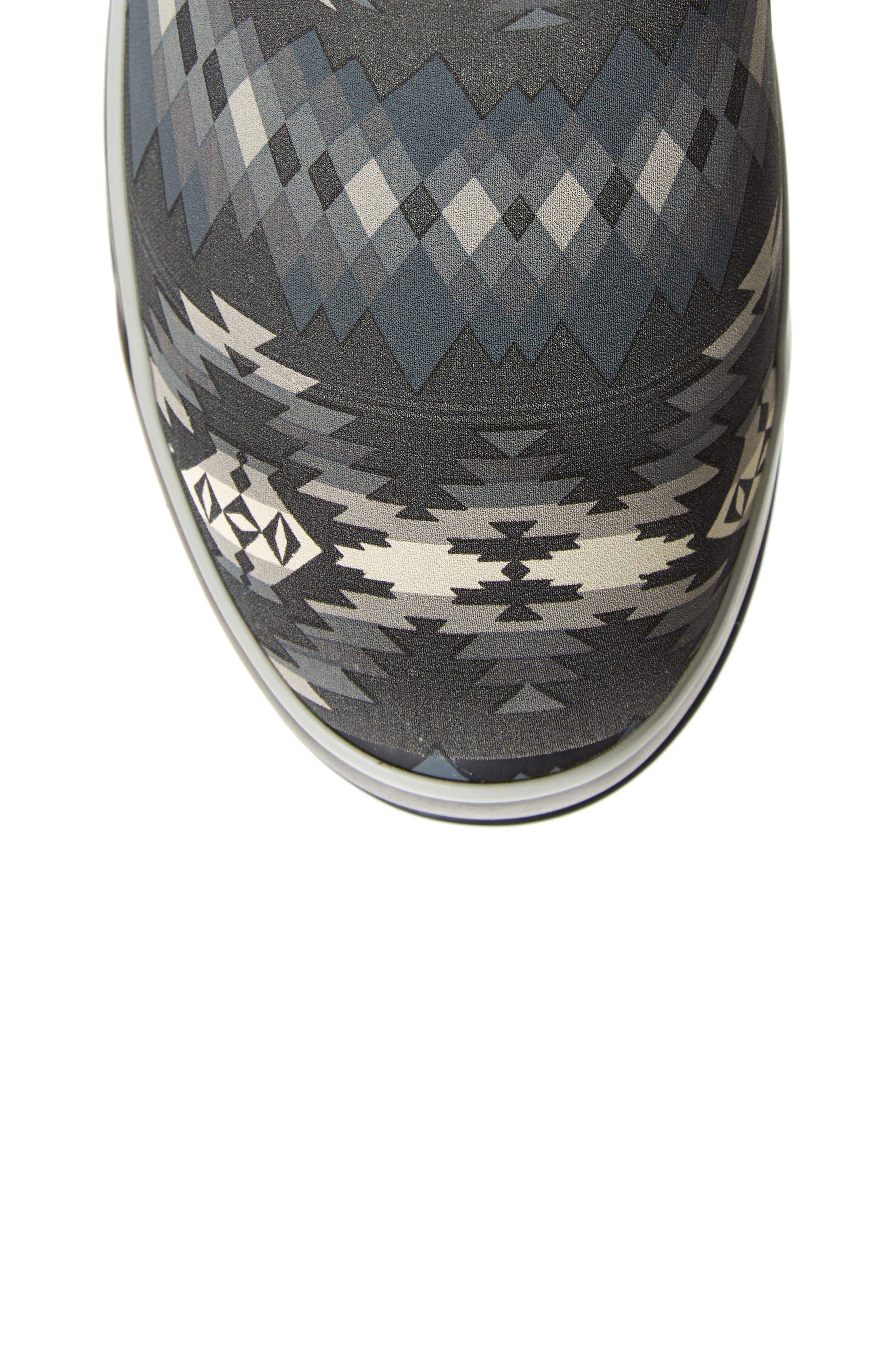 Pendleton Papago Park Tall Rain Boot,                             Alternate thumbnail 5, color,                             BLACK