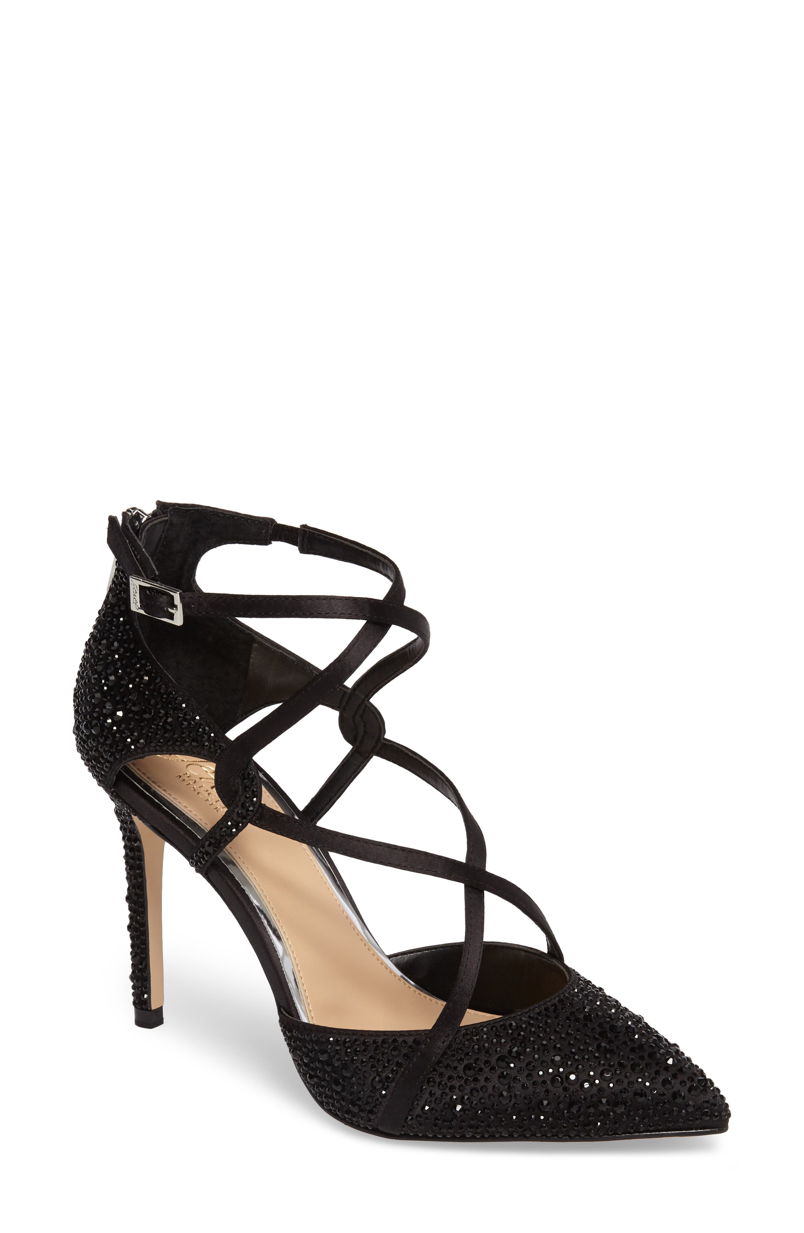 Alivia II Strappy Pump,                         Main,                         color, 004