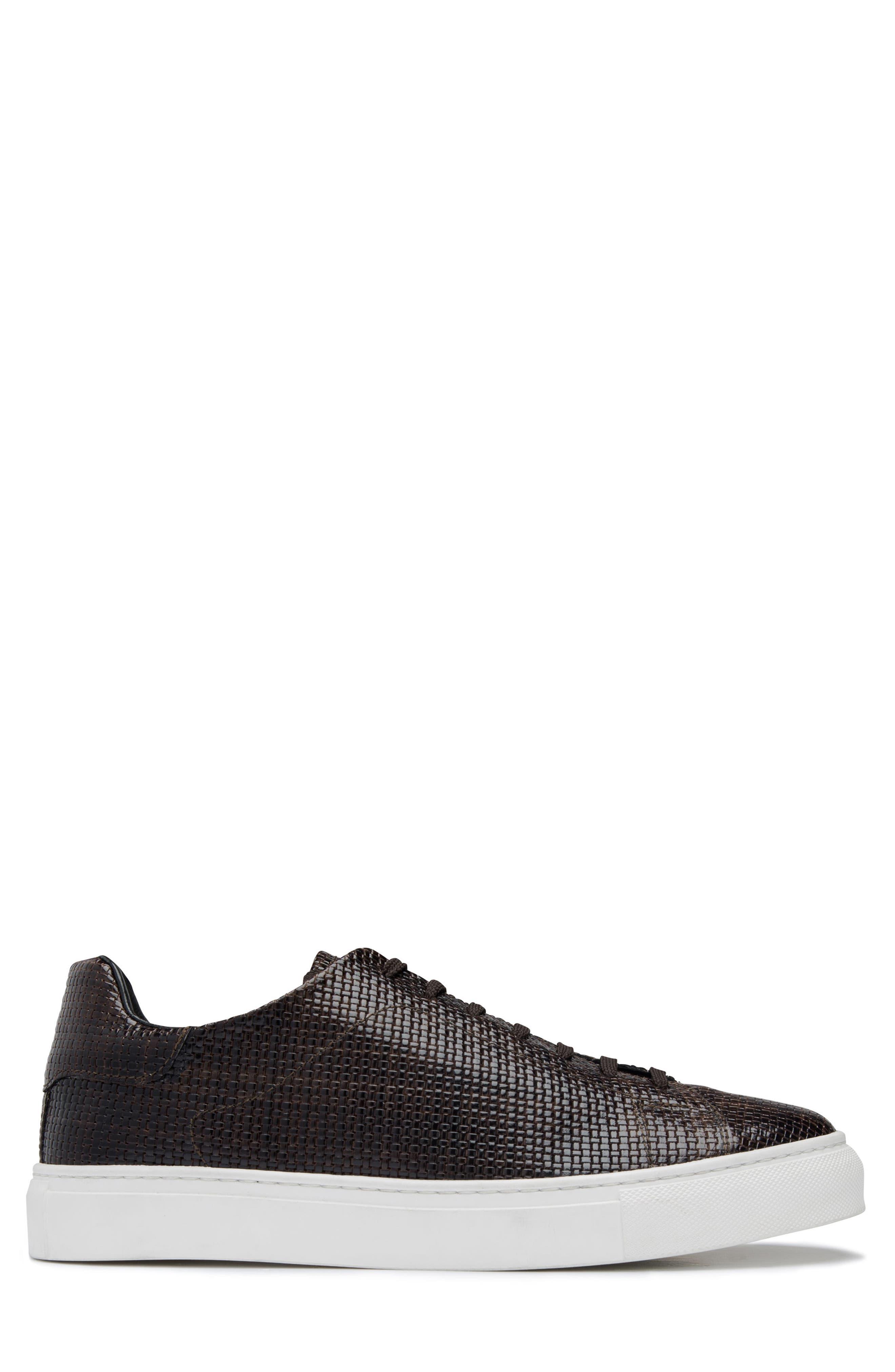 Wimbledon Sneaker,                             Alternate thumbnail 3, color,                             TESTA DI MORO