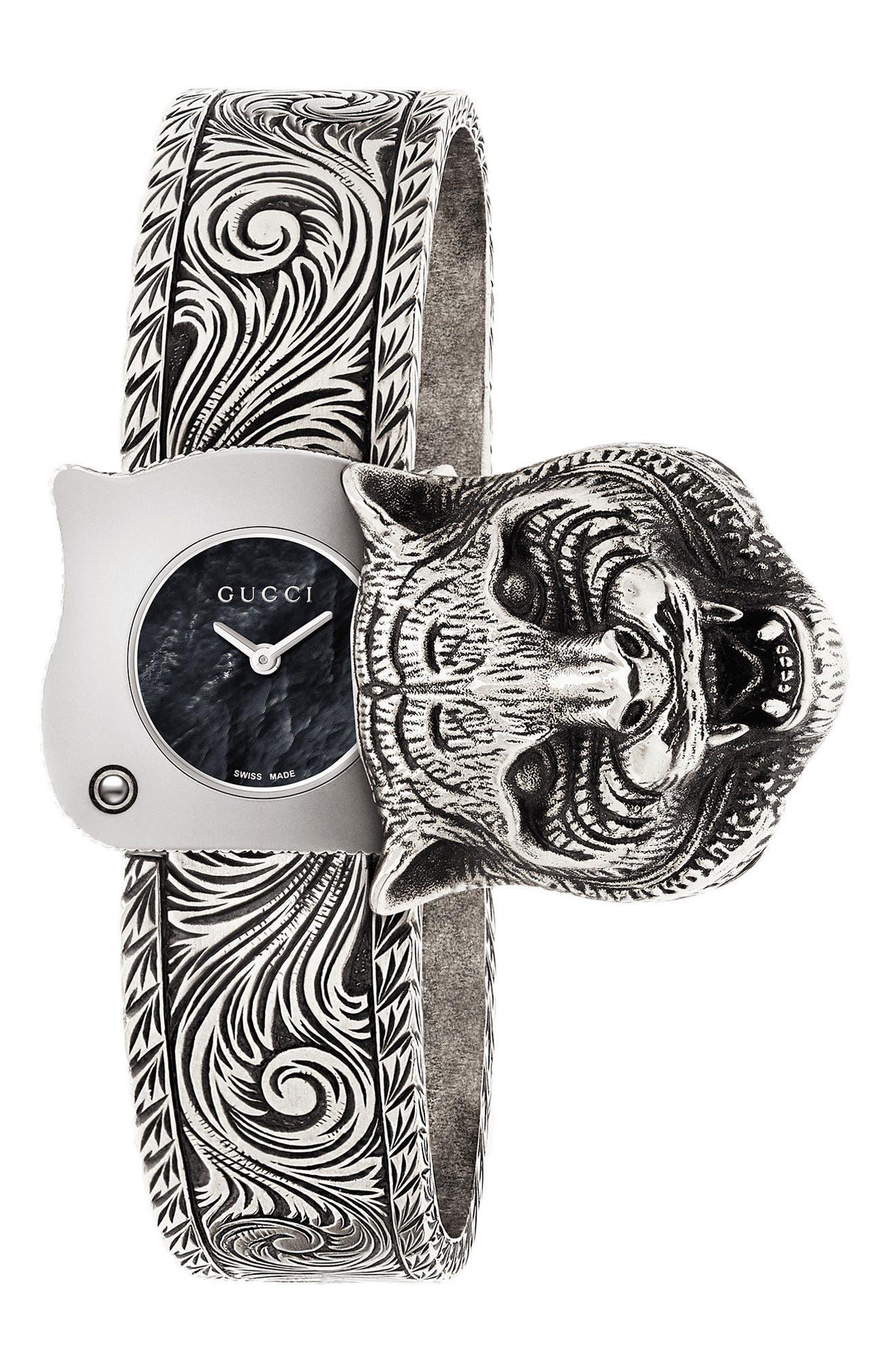Le Marché Des Merveilles Bangle Watch, 22mm,                         Main,                         color, STEEL