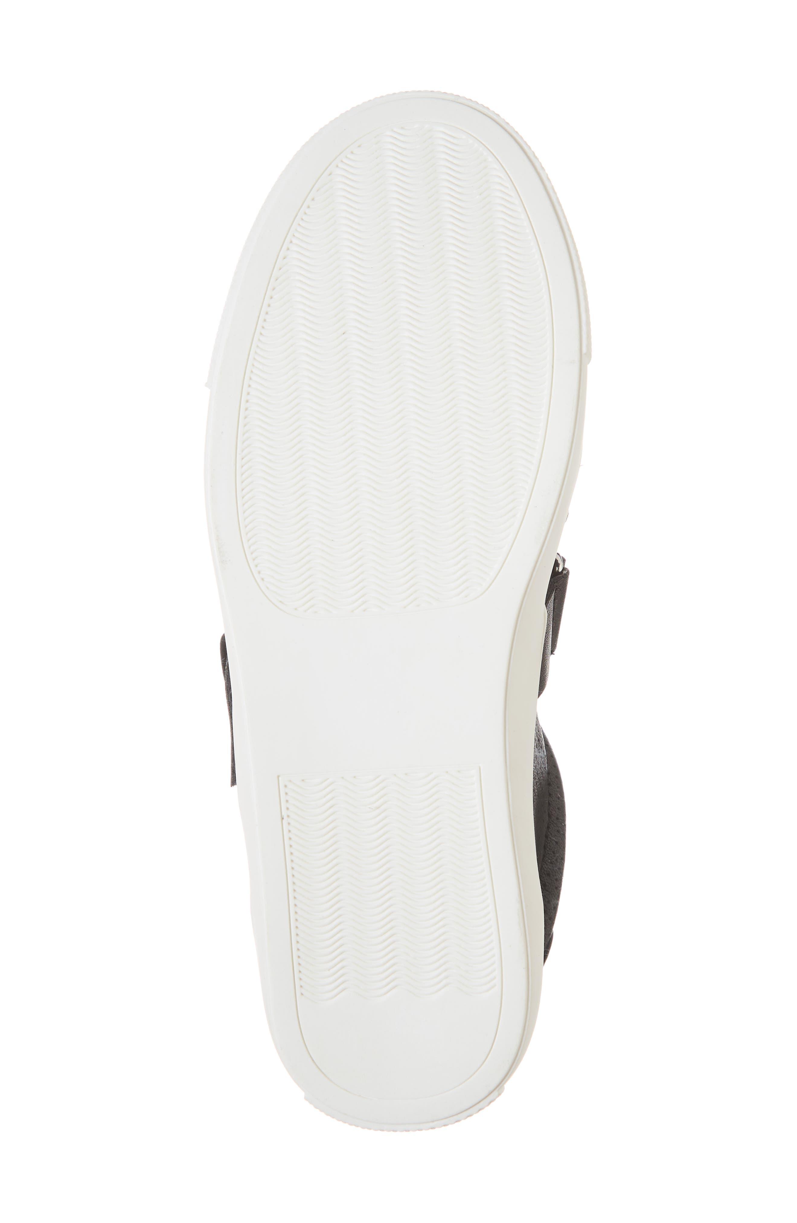 Kaelynn Sneaker,                             Alternate thumbnail 6, color,                             BLACK