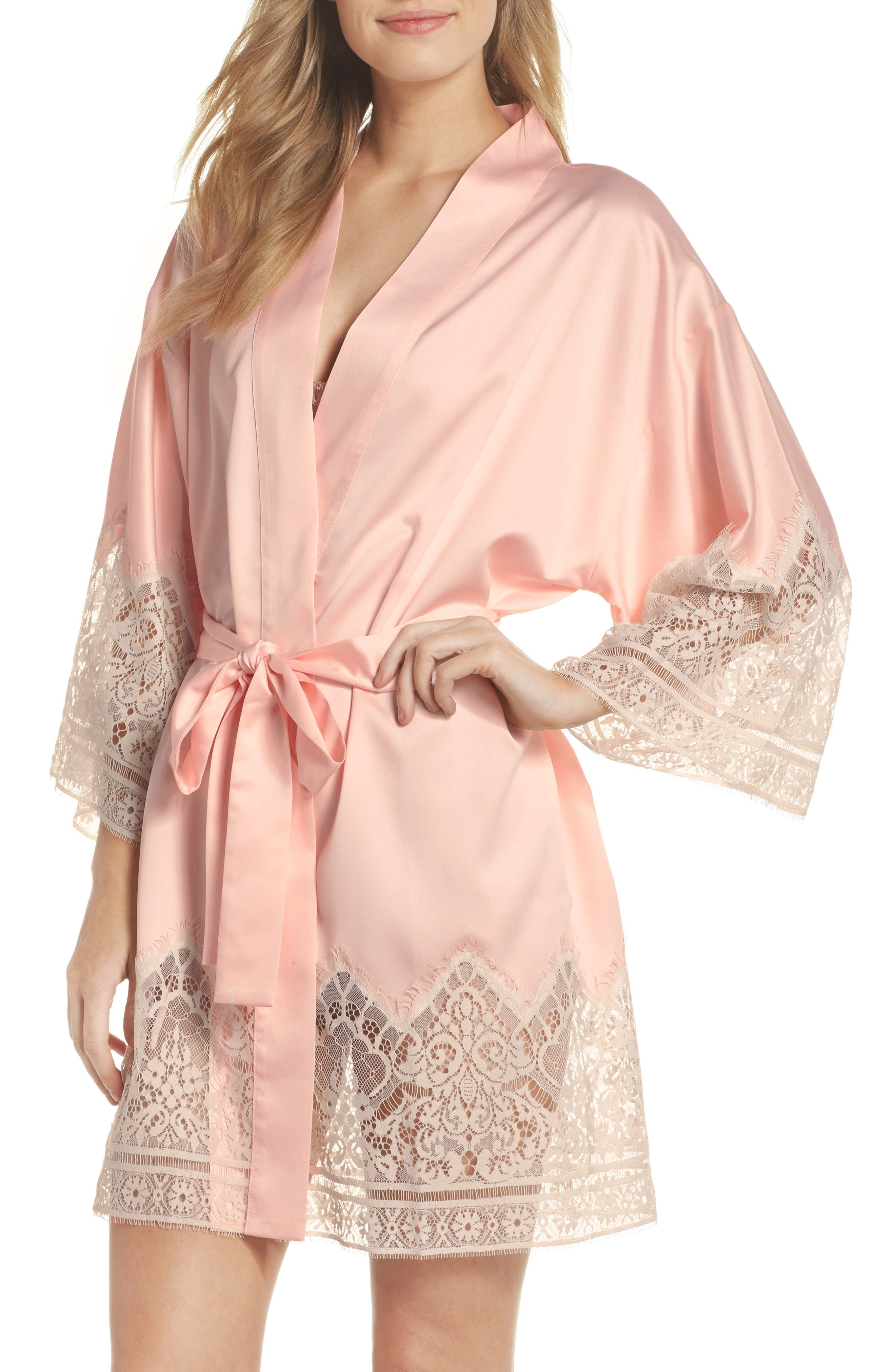 Genevive Short Robe,                         Main,                         color, 650