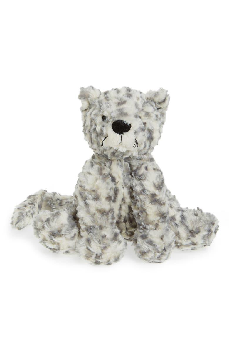 Jellycat Medium Fuddlewuddle Snow Leopard Stuffed Animal Nordstrom