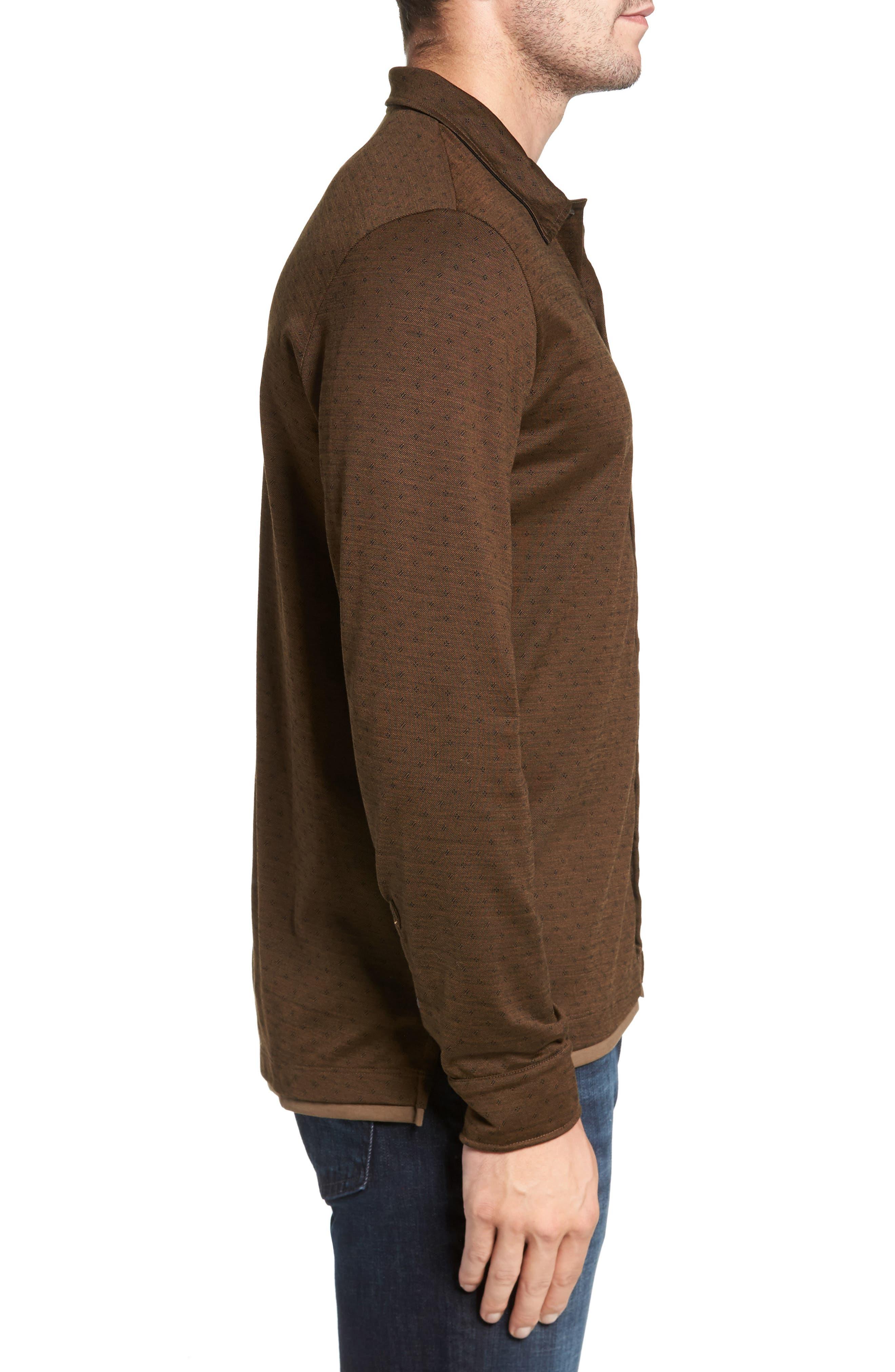 Jacquard Knit Sport Shirt,                             Alternate thumbnail 10, color,
