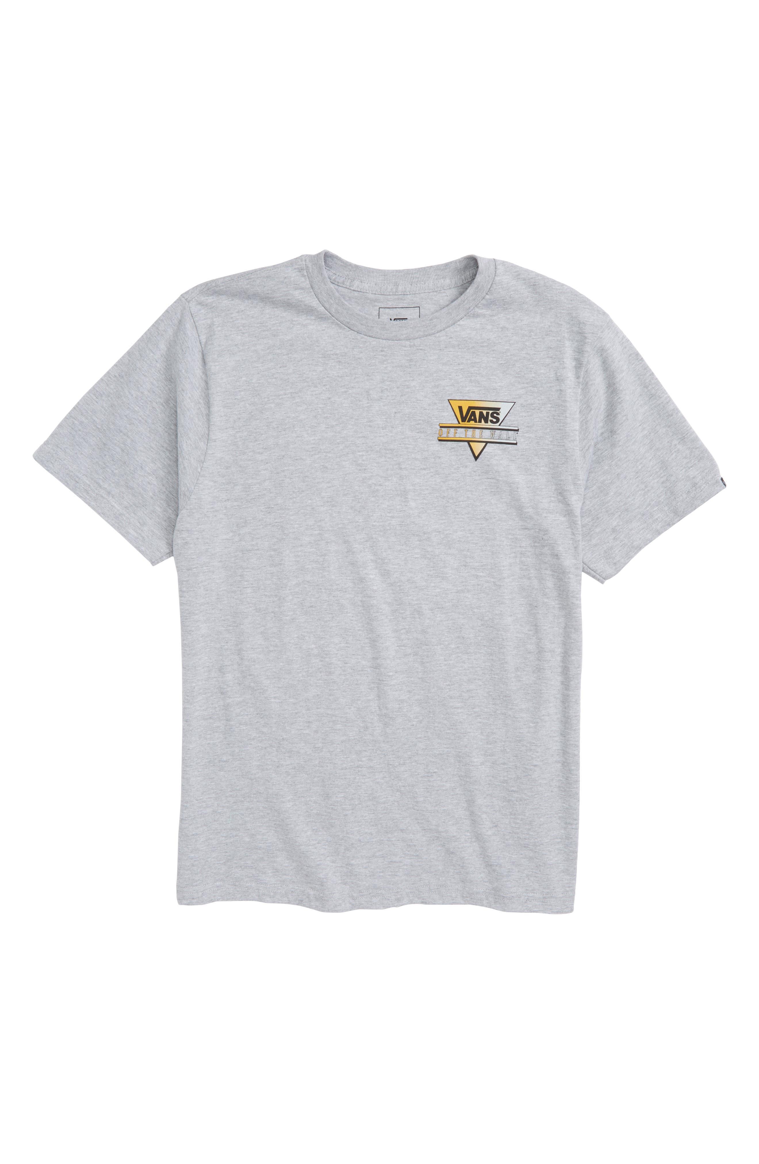 Retro Triangle Graphic T-Shirt,                             Main thumbnail 1, color,                             021