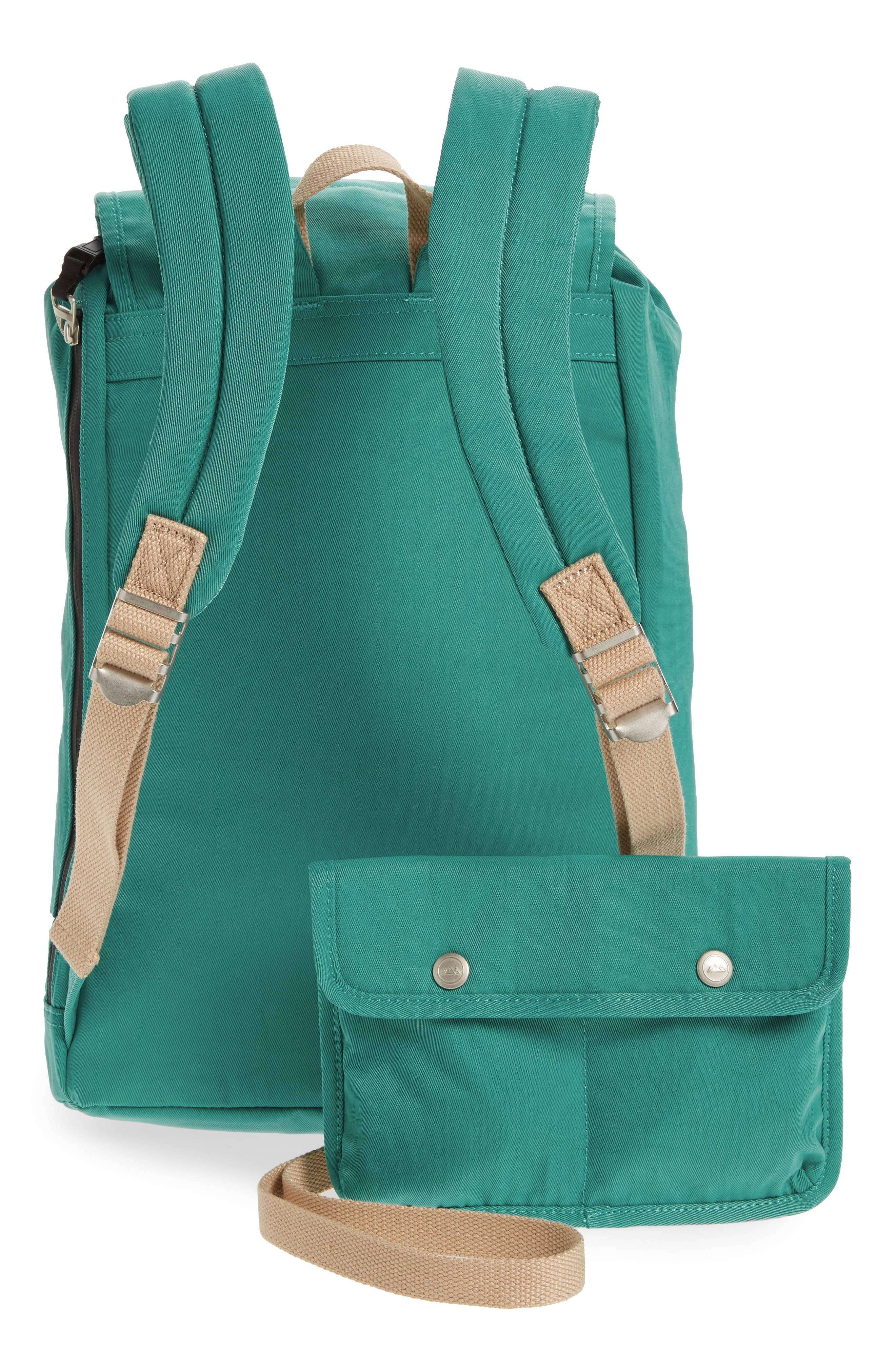Montana Water Repellent Backpack,                             Alternate thumbnail 3, color,                             MINT
