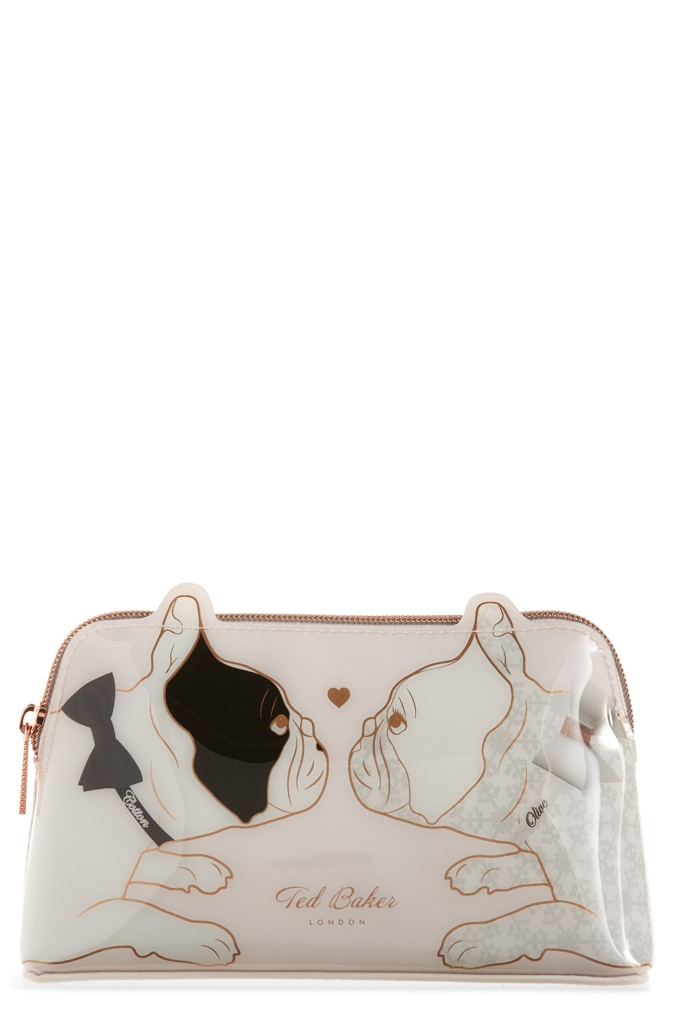 Aria Dogs Cosmetics Case in Nude Pink