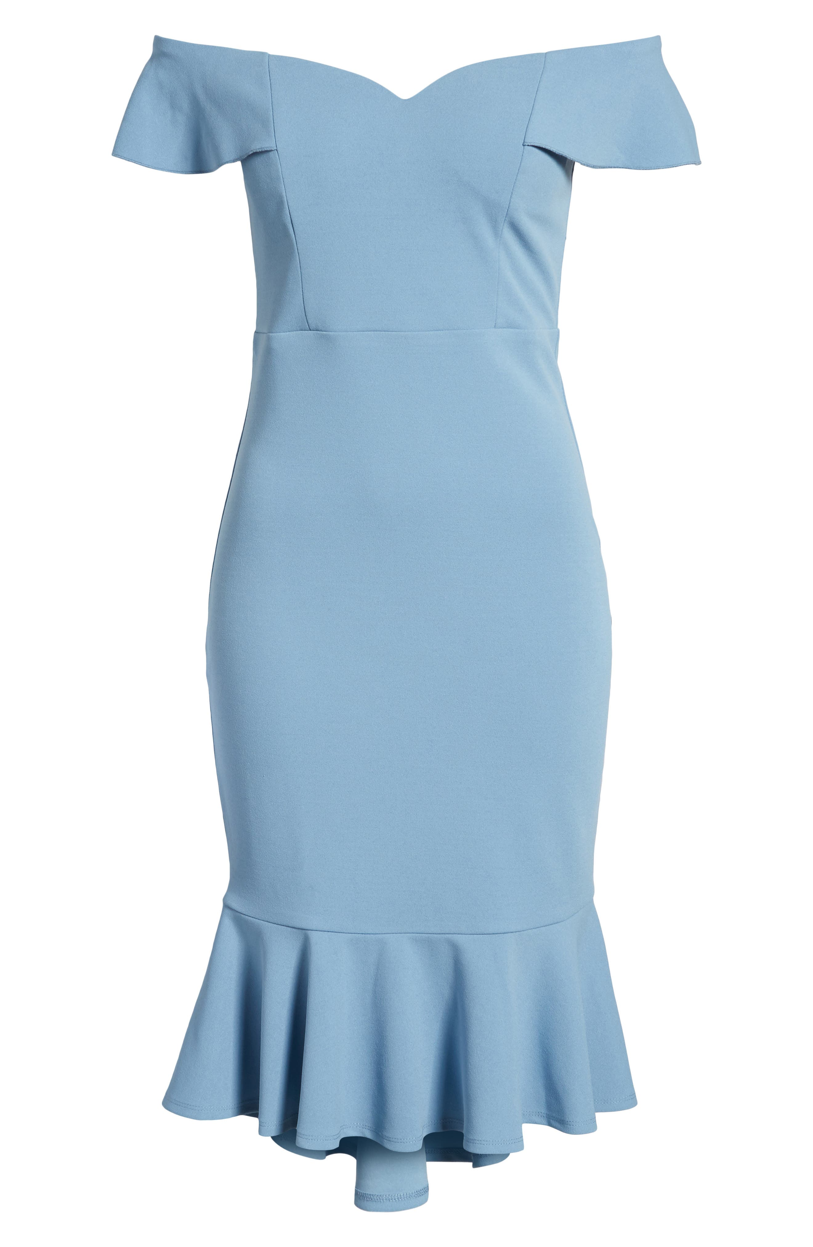 Sweetheart Midi Dress,                             Alternate thumbnail 7, color,                             400