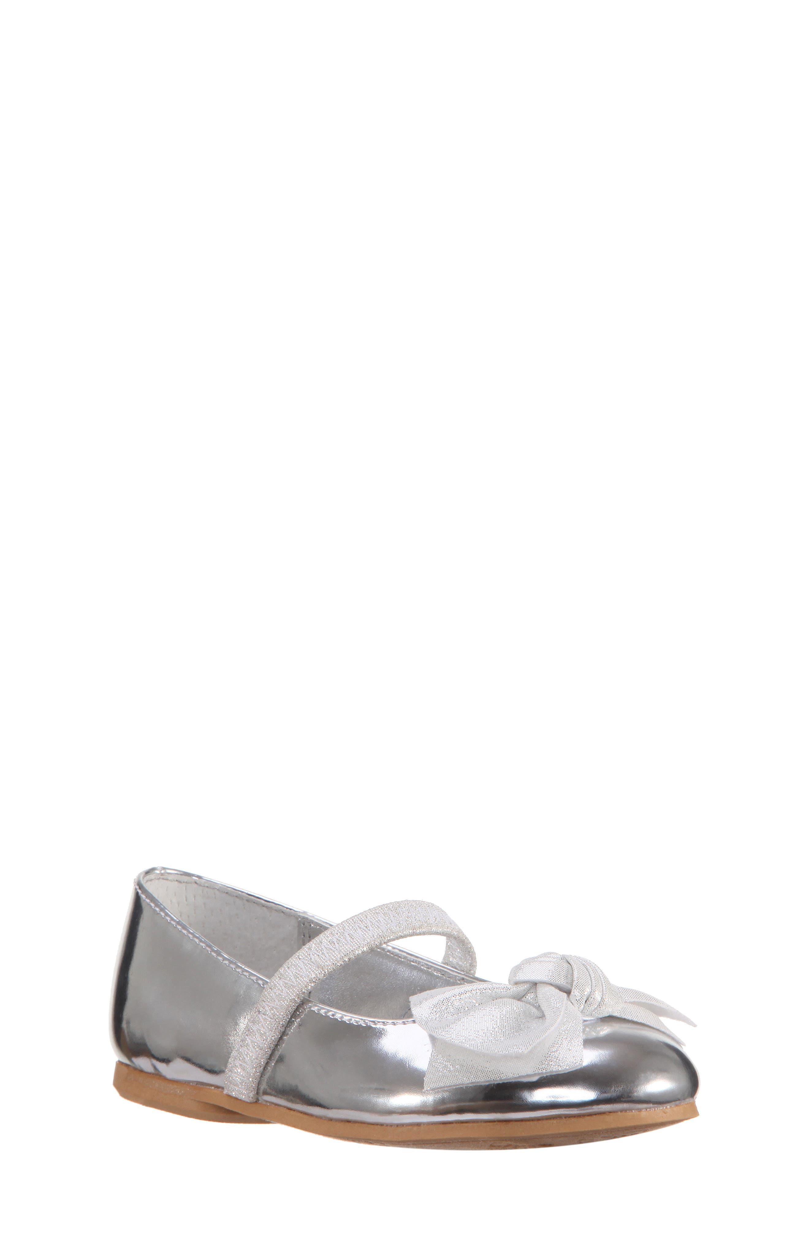 Kaytelyn-T Glitter Bow Ballet Flat,                         Main,                         color,
