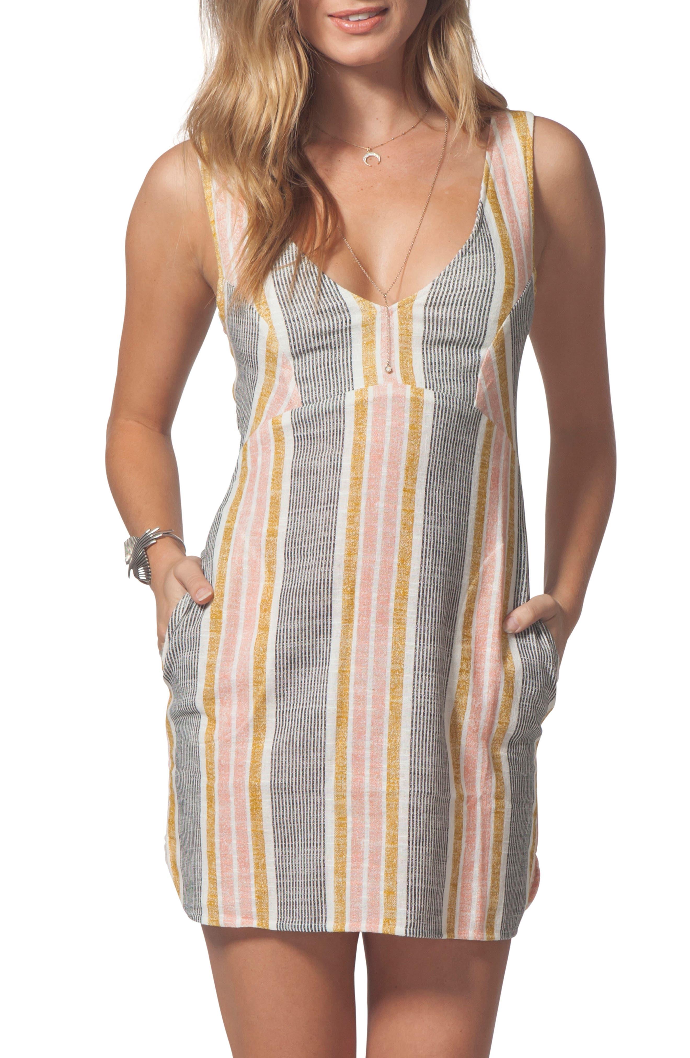 Rip Curl Into The Sun Stripe Dress