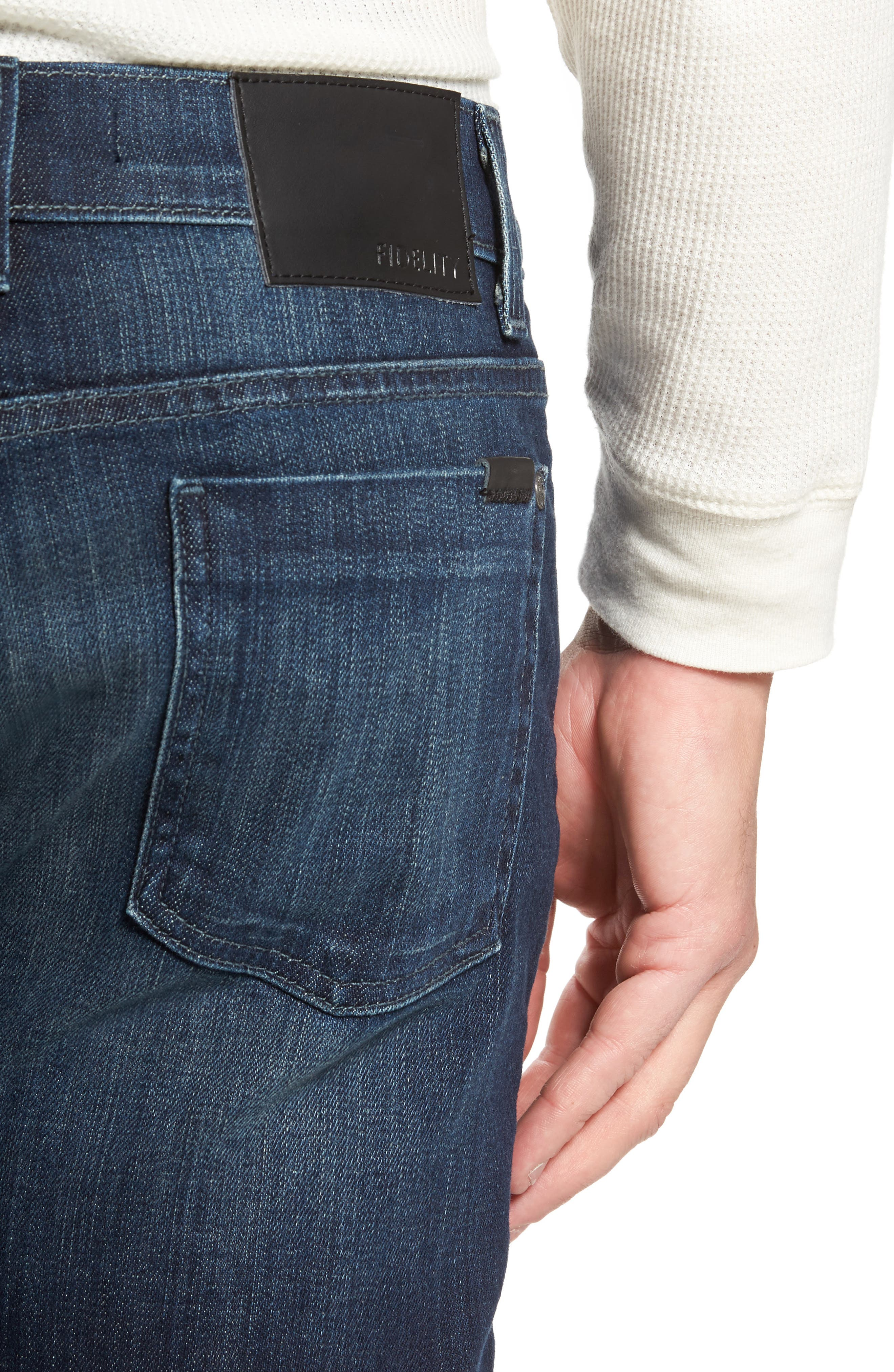 50-11 Relaxed Fit Jeans,                             Alternate thumbnail 4, color,                             400