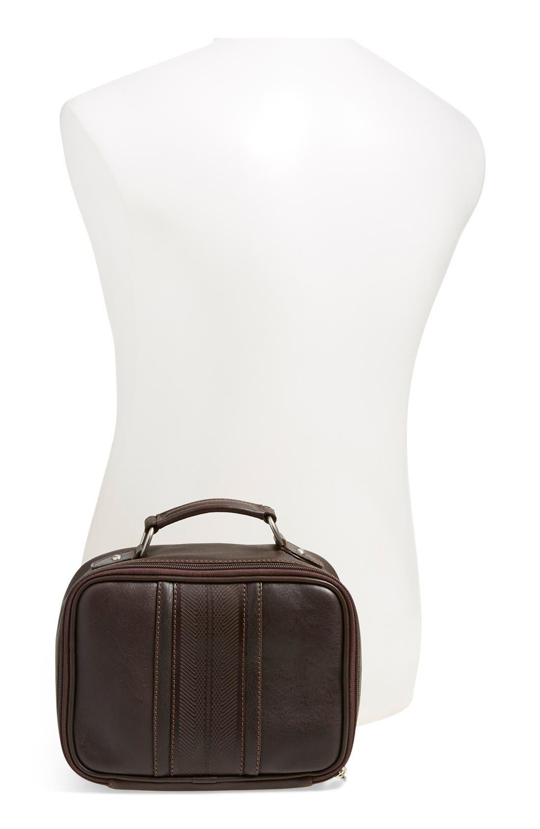 MartinDingman'Rudyard' Leather Travel Kit,                             Alternate thumbnail 2, color,                             CHOCOLATE