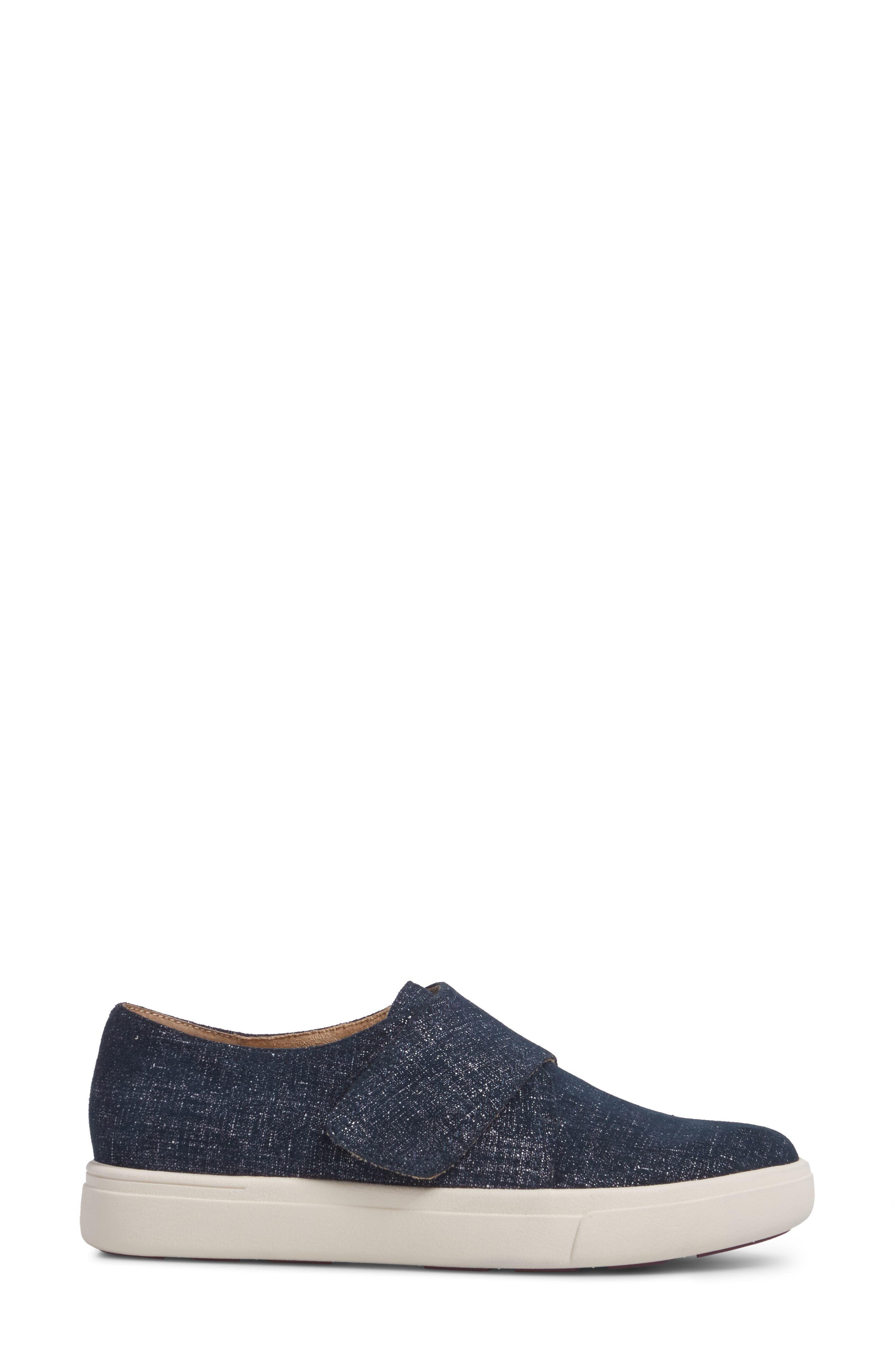 VANELI,                             Oberon Slip-On Sneaker,                             Alternate thumbnail 3, color,                             JEANS PRINTED SUEDE