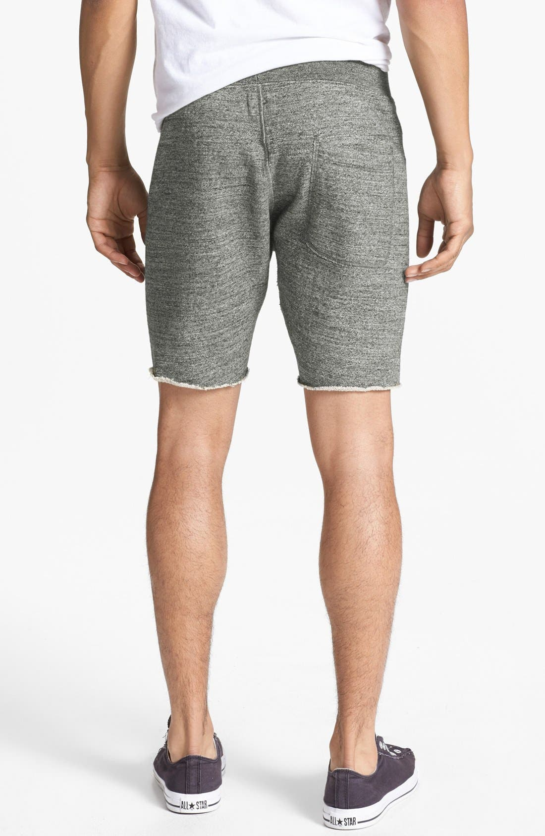 Knit Cotton Shorts,                             Alternate thumbnail 8, color,