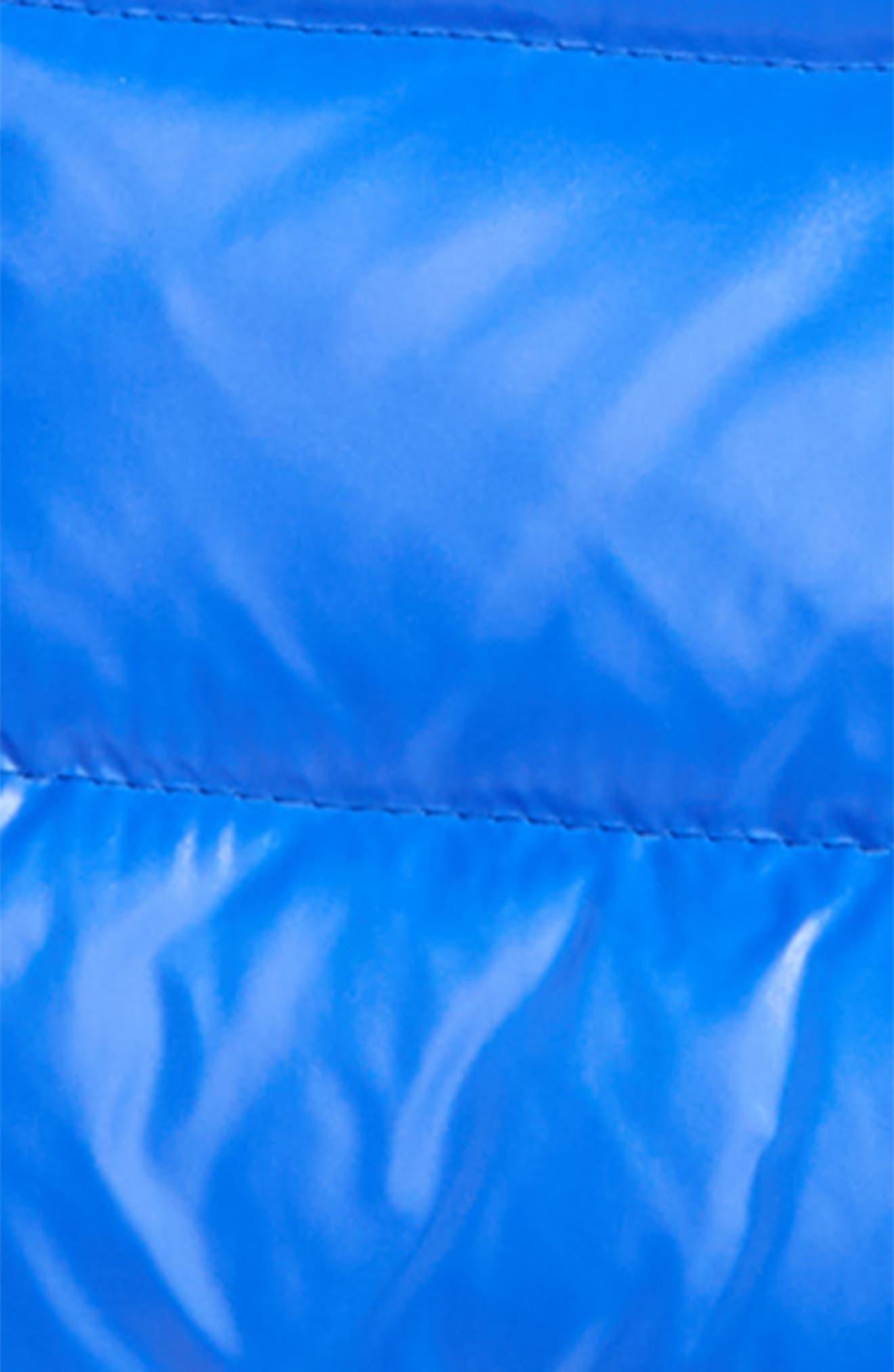 New Aubert Hodded Down Jacket,                             Alternate thumbnail 2, color,                             BRIGHT BLUE