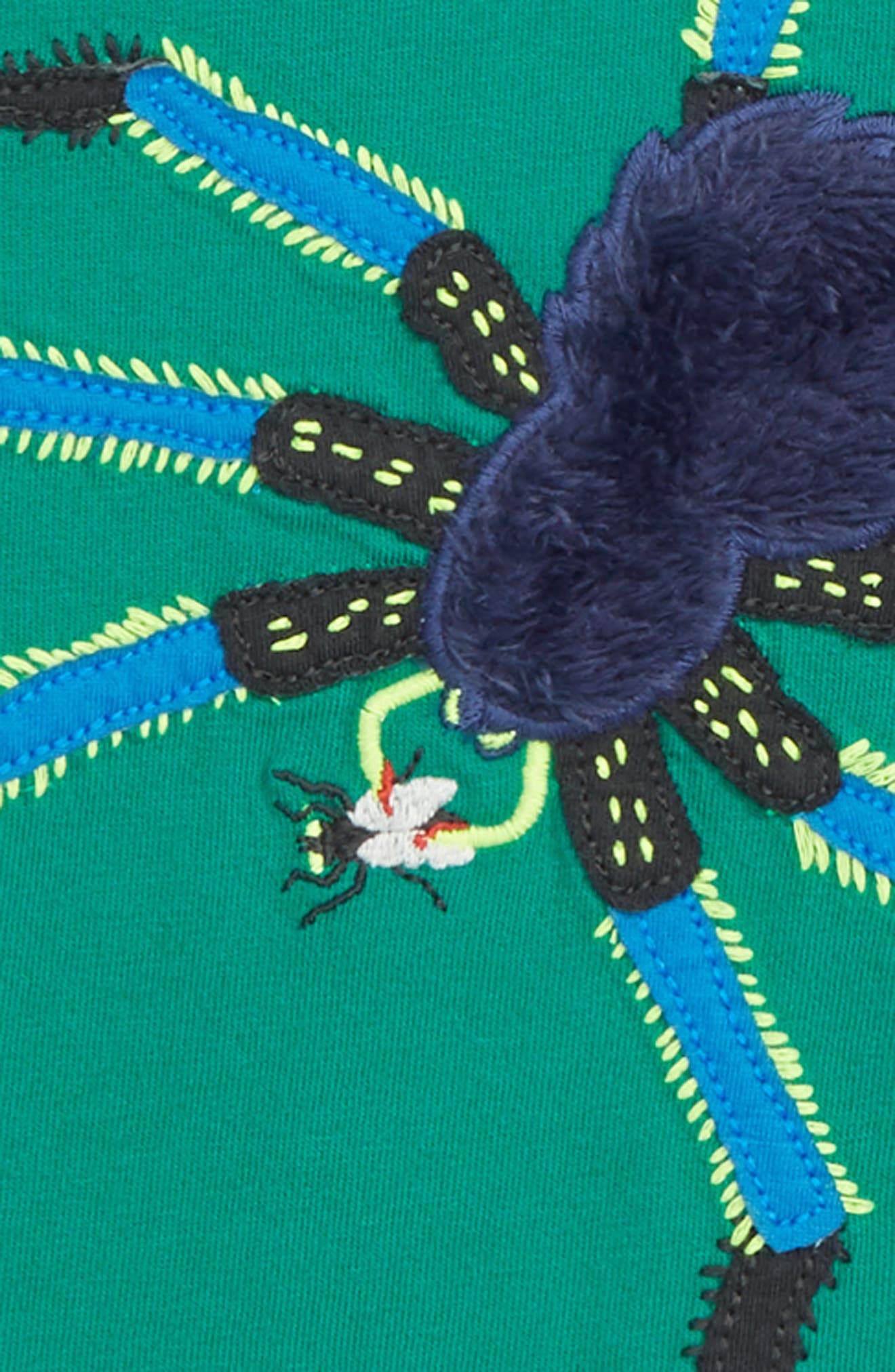 Creepy Crawly Spider T-Shirt,                             Alternate thumbnail 2, color,                             315