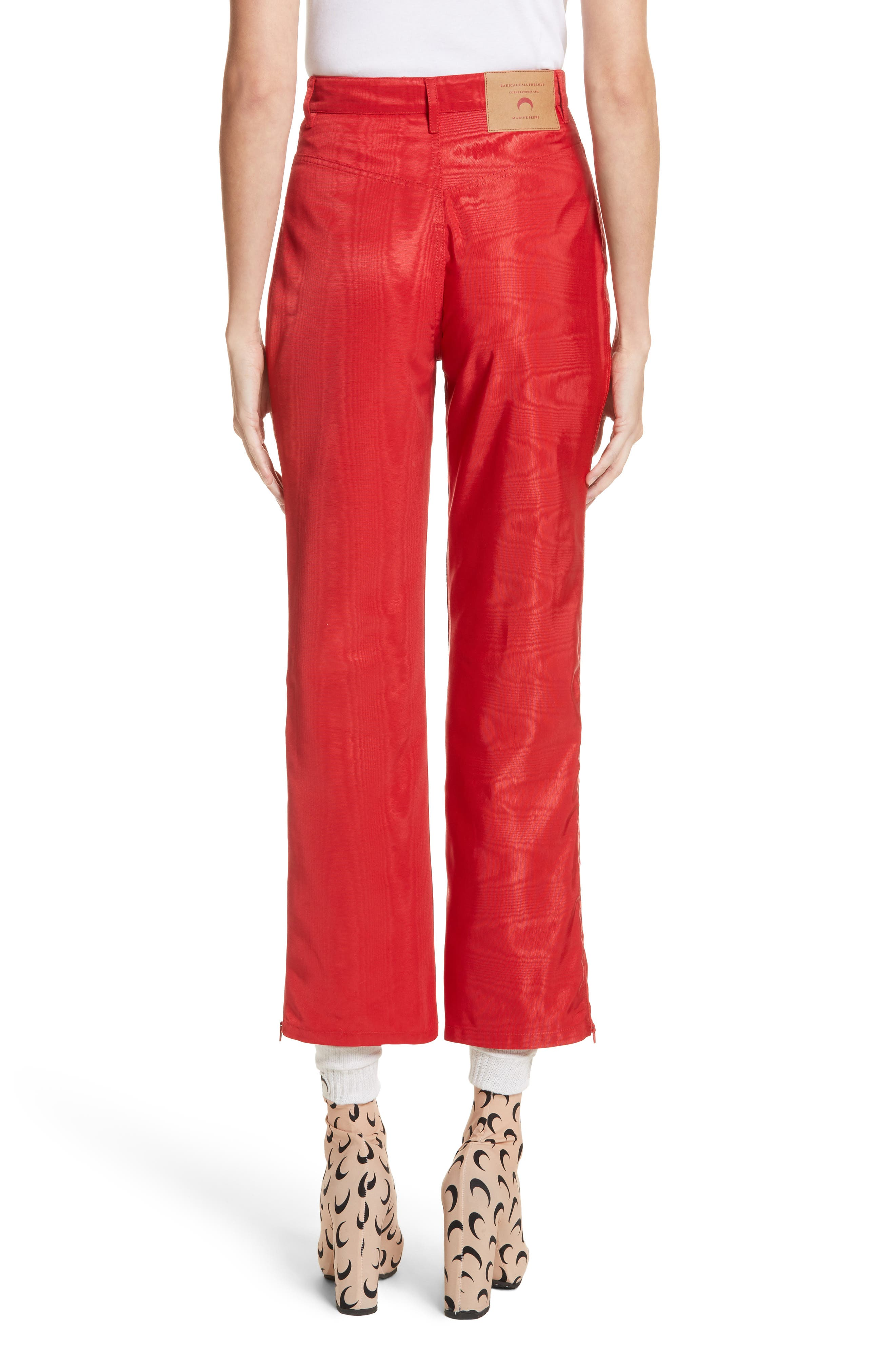 Moiré Trousers,                             Alternate thumbnail 2, color,                             600