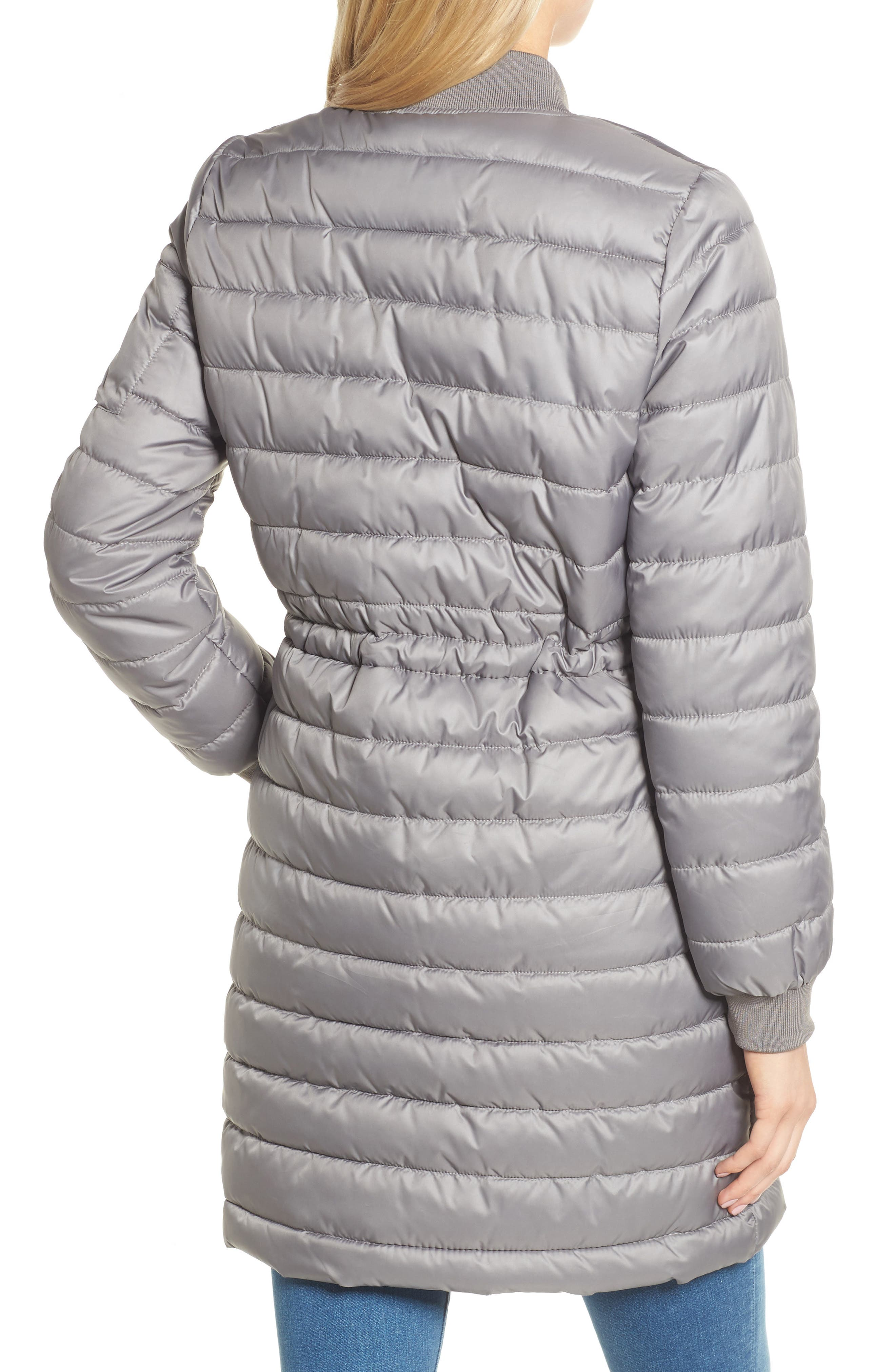 Lightweight Quilted Puffer Coat,                             Alternate thumbnail 6, color,