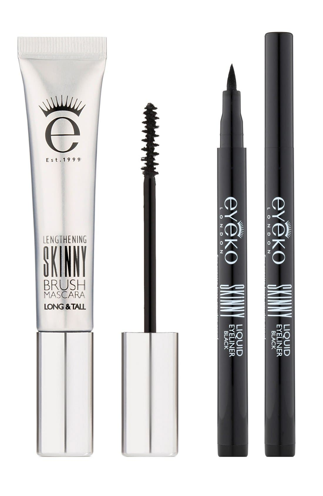 'Skinny' Mascara & Eyeliner Duo,                             Main thumbnail 1, color,