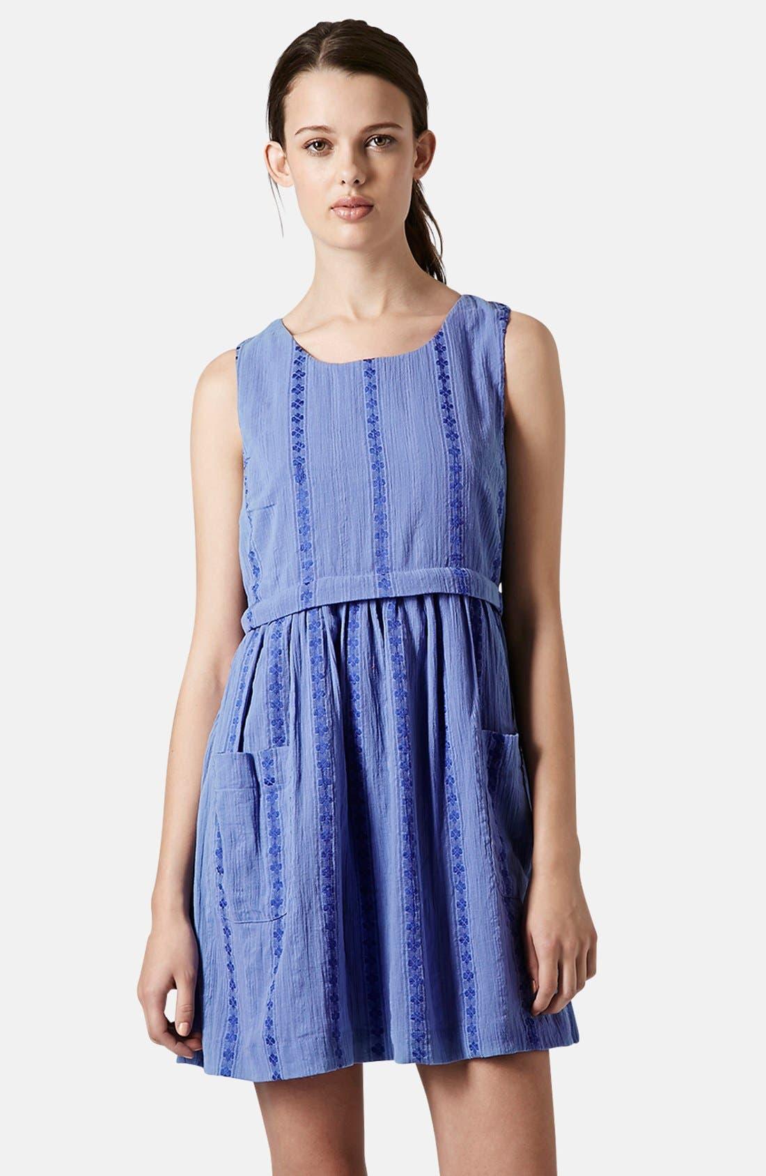 Overlay Tunic Dress,                         Main,                         color, 420