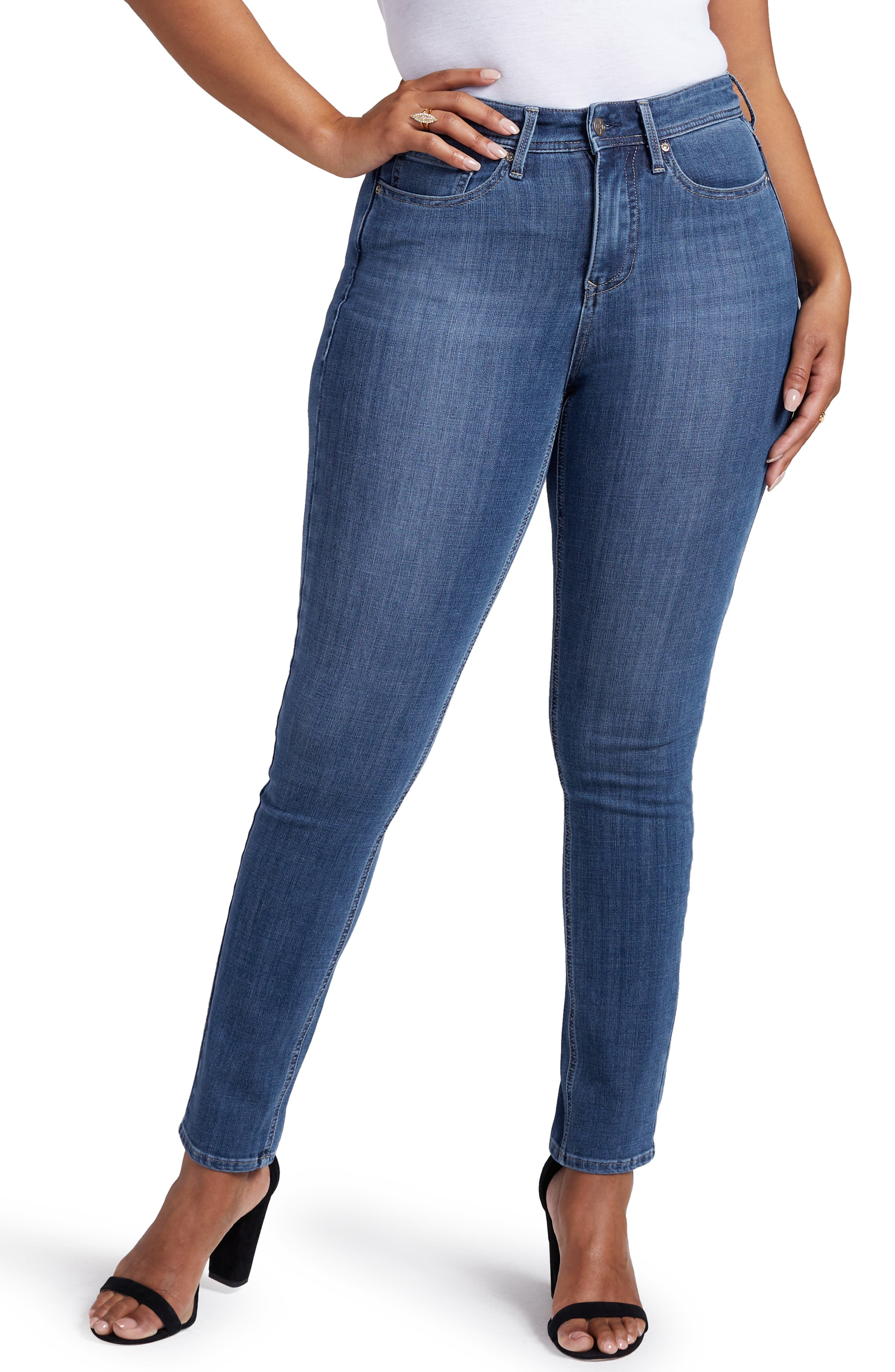 Slim Straight Leg Jeans,                             Main thumbnail 1, color,                             JACKSON
