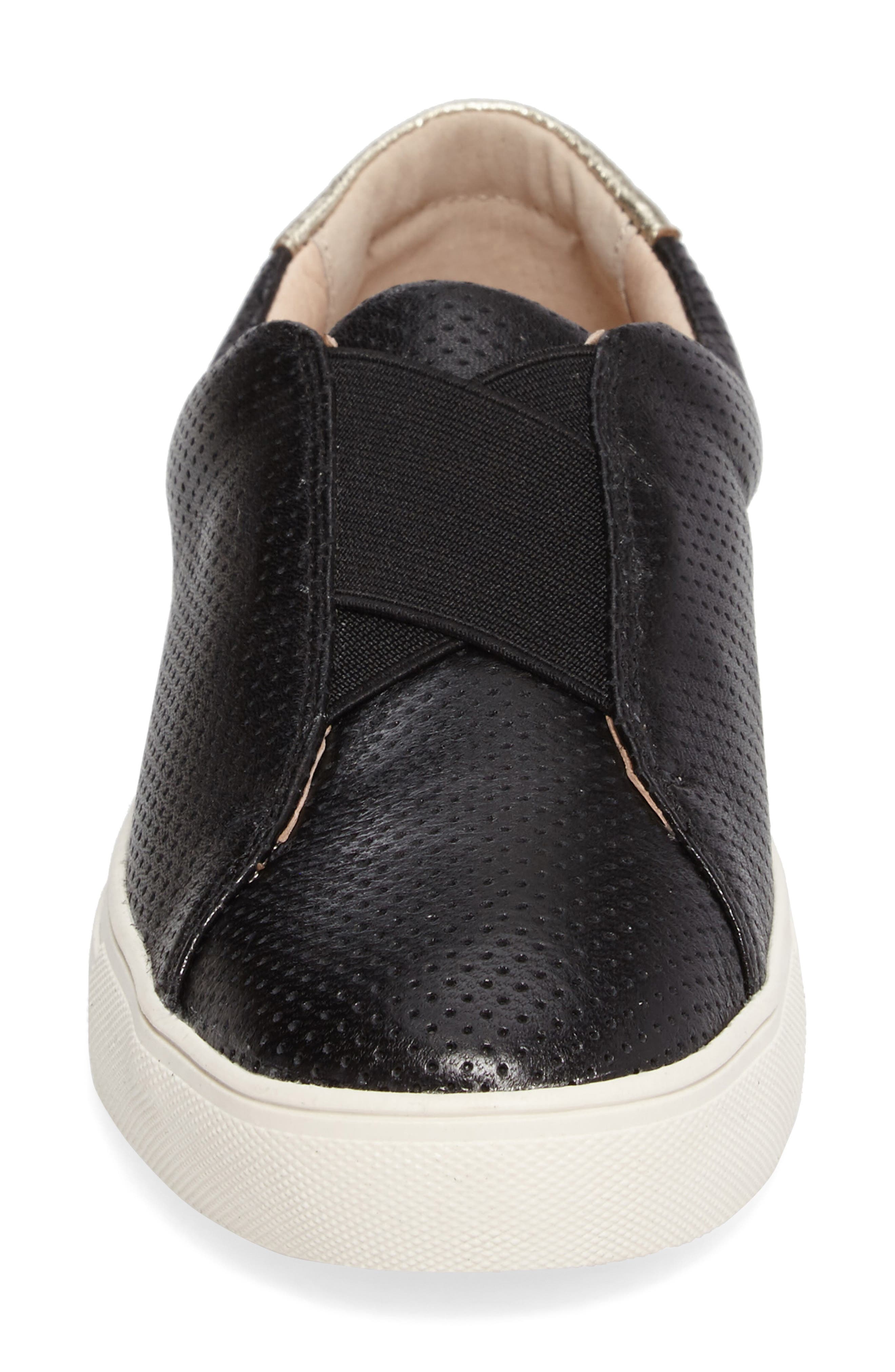 Sudina Giana Slip-On Sneaker,                             Alternate thumbnail 4, color,                             001