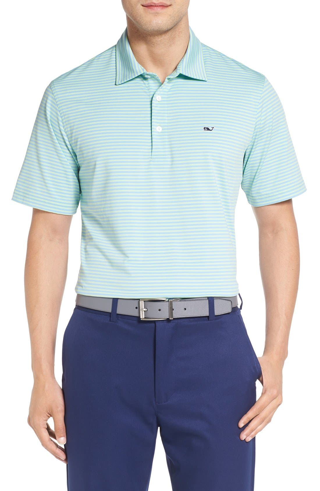 Kennedy Stripe Golf Polo,                             Main thumbnail 7, color,