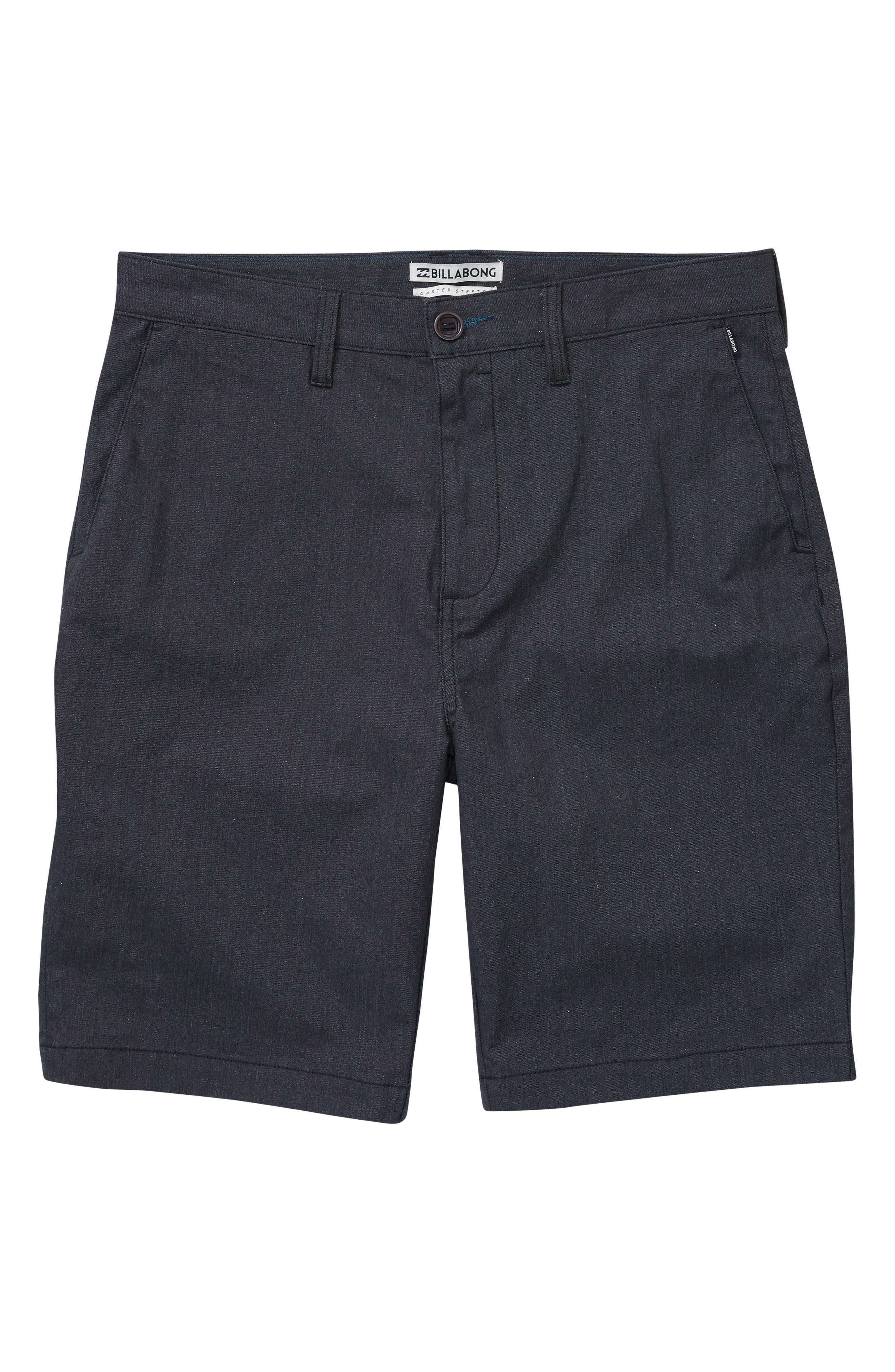 Carter Stretch Shorts,                             Main thumbnail 1, color,                             001