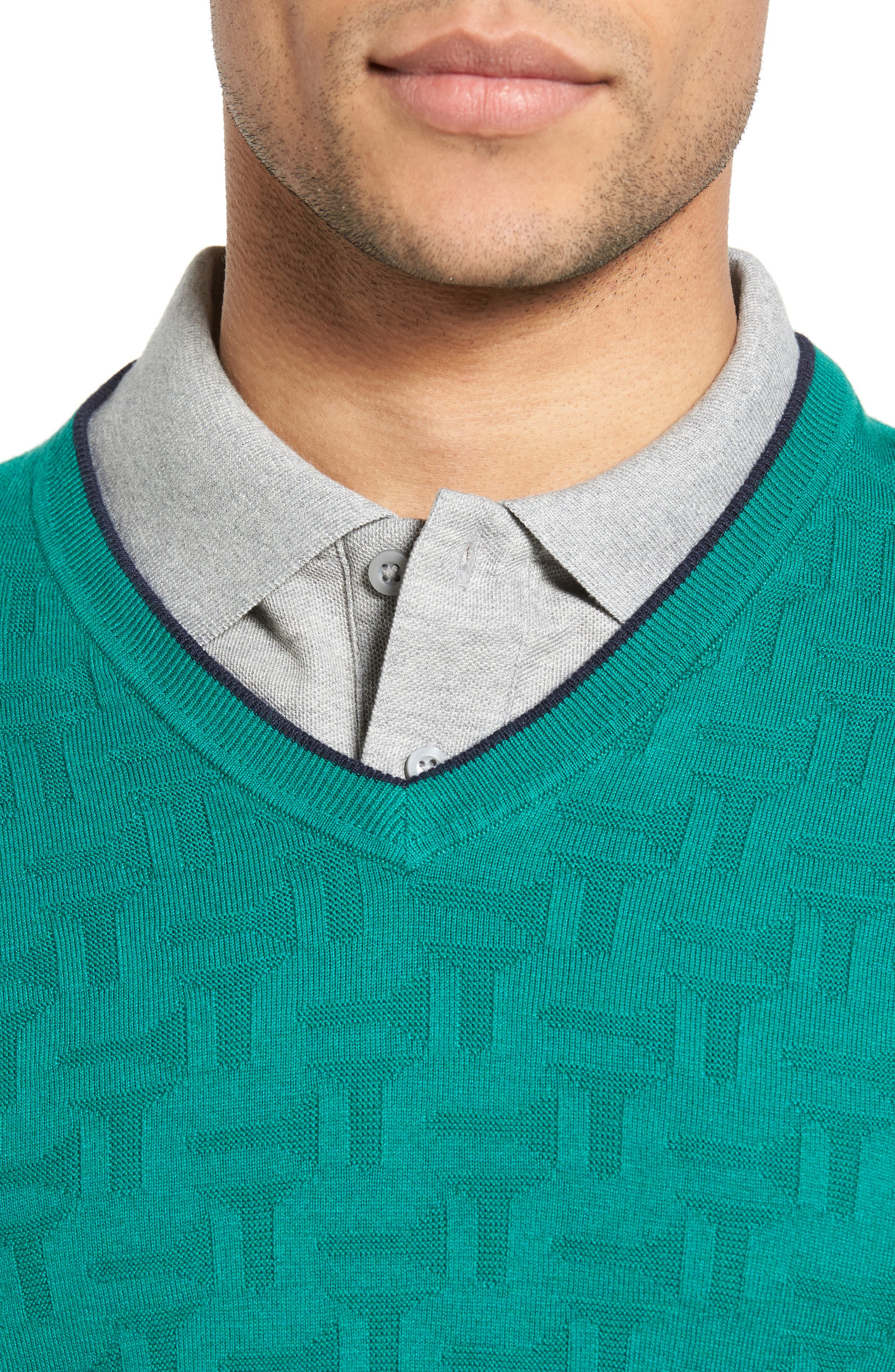 Armstro Tipped Golf Tee Sweater,                             Alternate thumbnail 22, color,