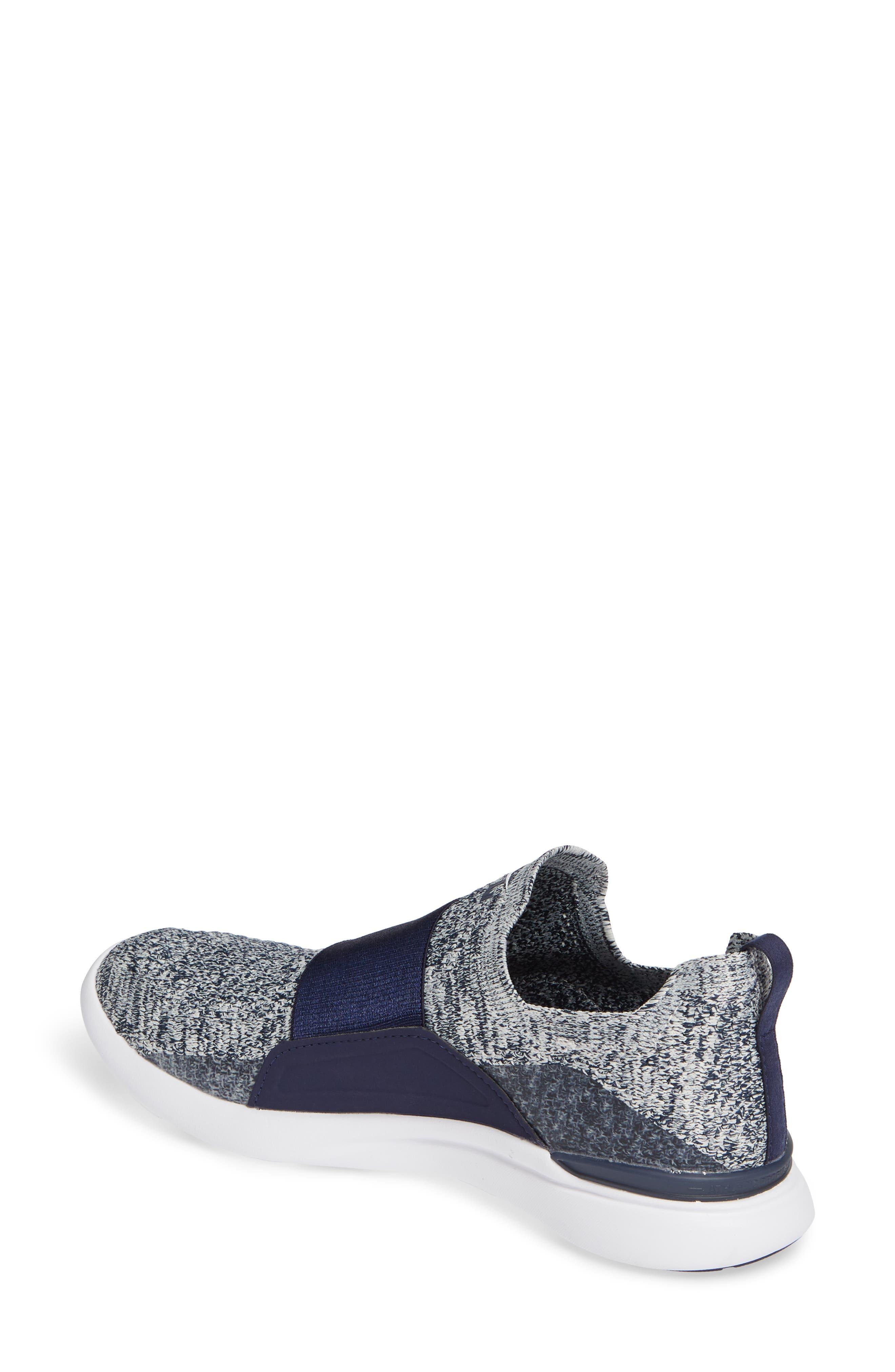 APL,                             Techloom Bliss Knit Running Shoe,                             Alternate thumbnail 2, color,                             NAVY/ PRISTINE/ WHITE