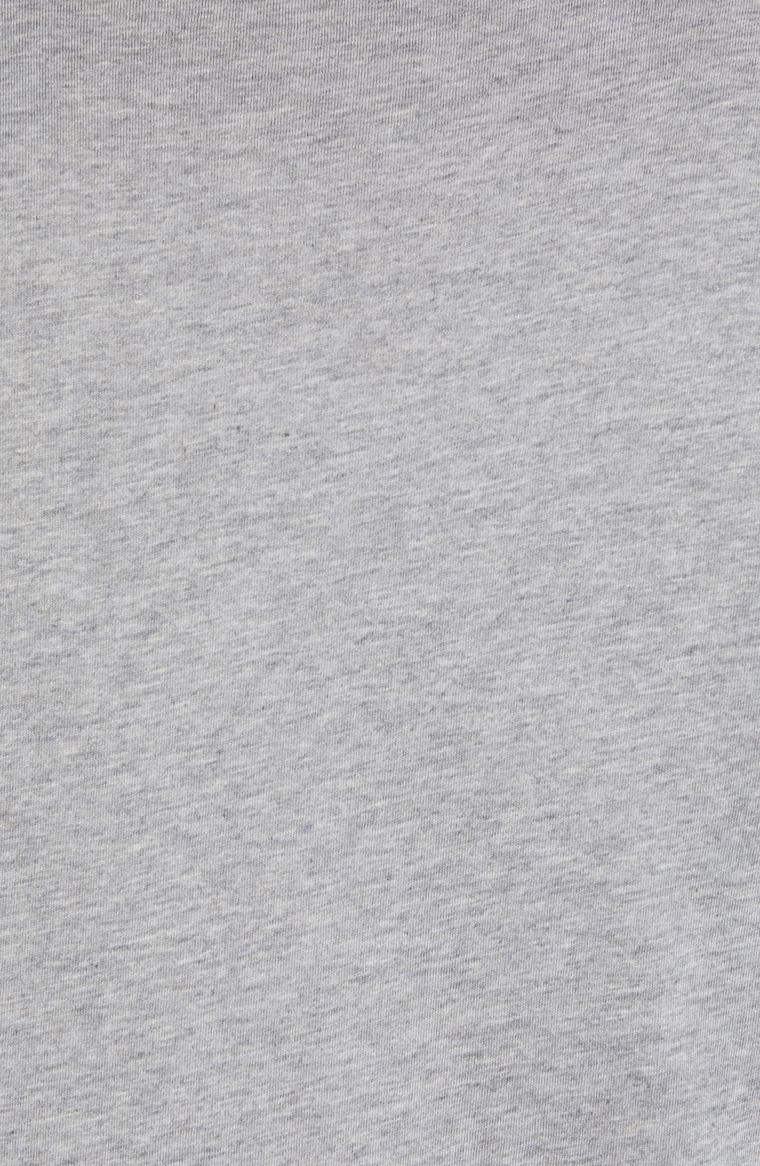 Airheads T-Shirt,                             Alternate thumbnail 5, color,                             HEATHER GREY