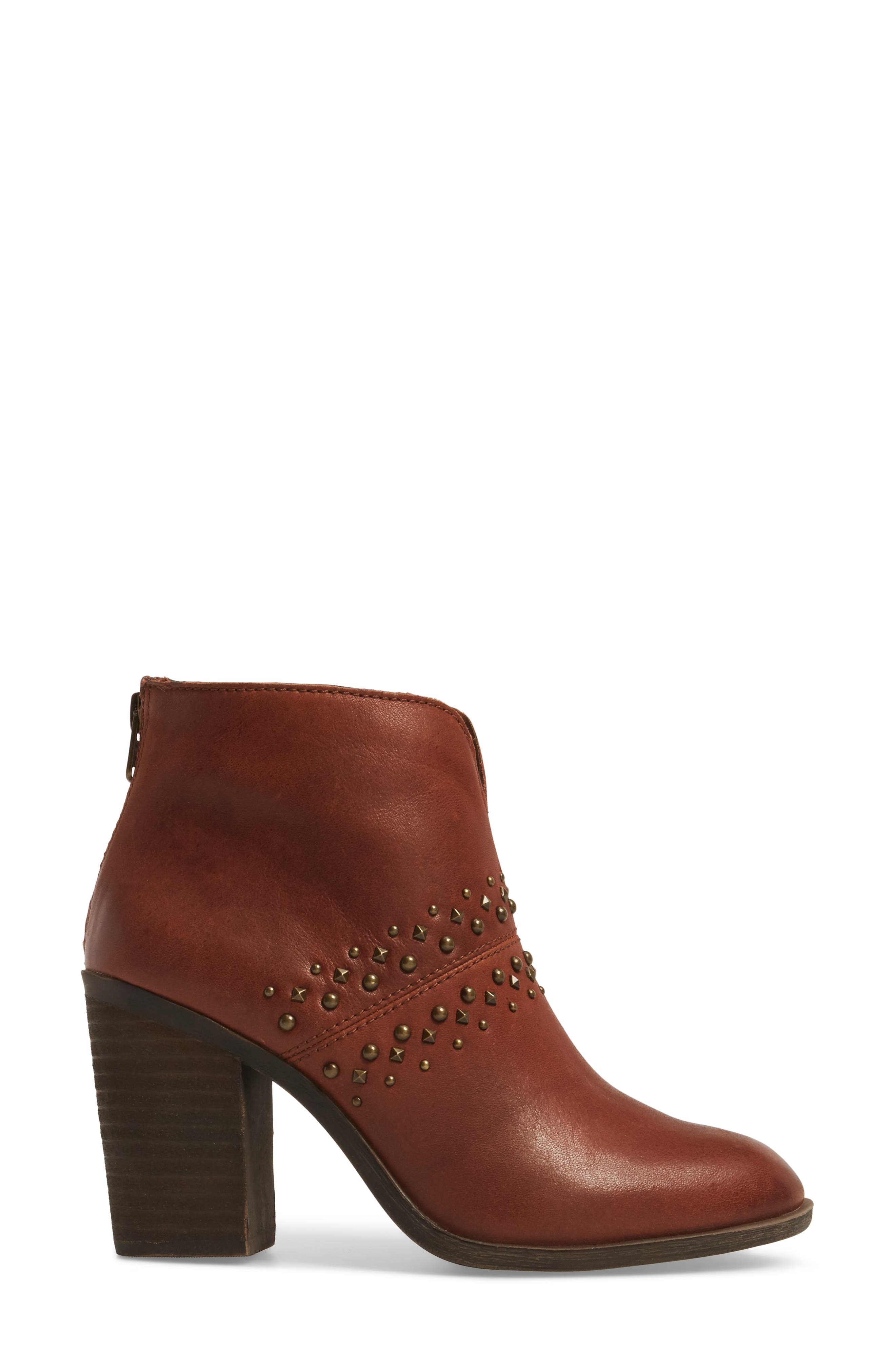 Sancha Studded Bootie,                             Alternate thumbnail 9, color,