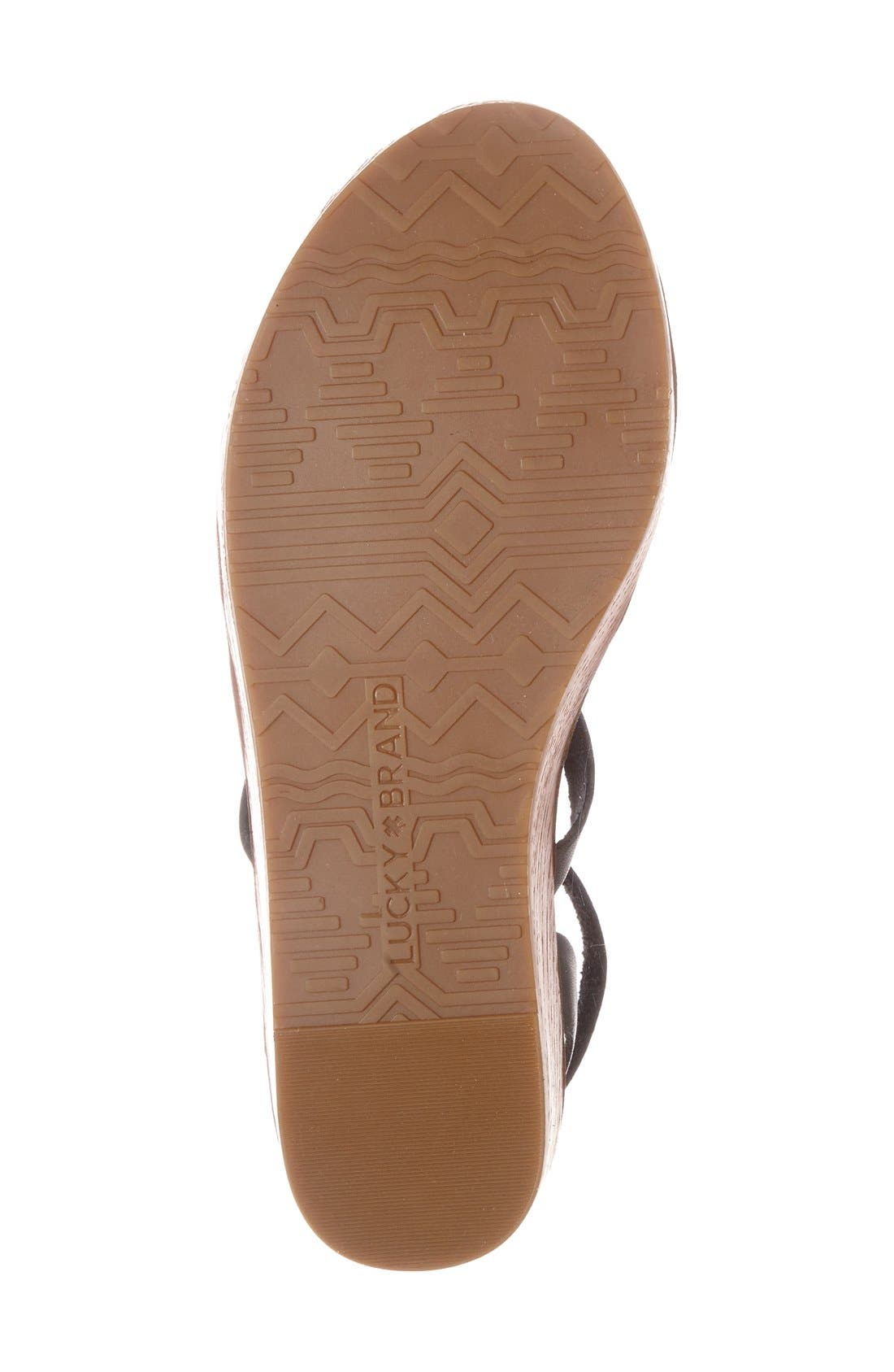 'Honeyy' Platform Sandal,                             Alternate thumbnail 14, color,