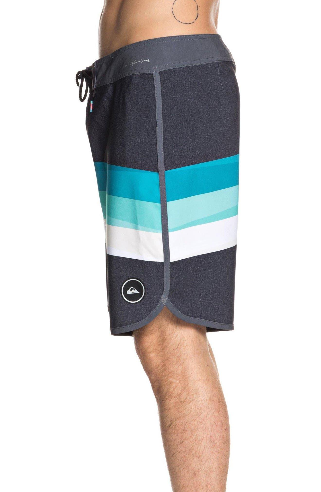 QUIKSILVER,                             Highline Reverse Board Shorts,                             Alternate thumbnail 3, color,                             002