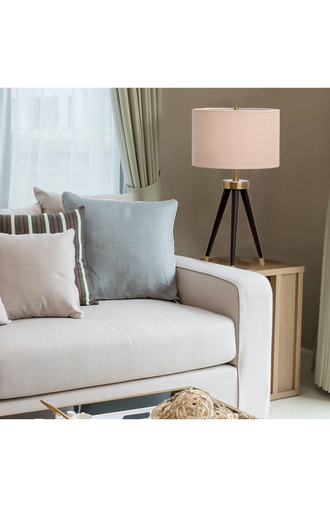 JAlexander Tripod Table Lamp,                             Alternate thumbnail 2, color,                             001