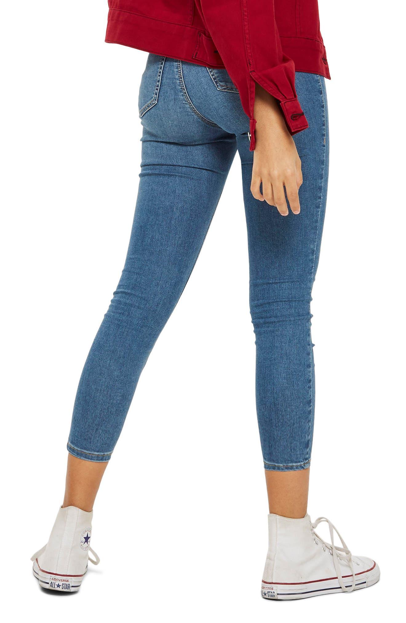 Joni Skinny Jeans,                             Alternate thumbnail 2, color,                             MID DENIM