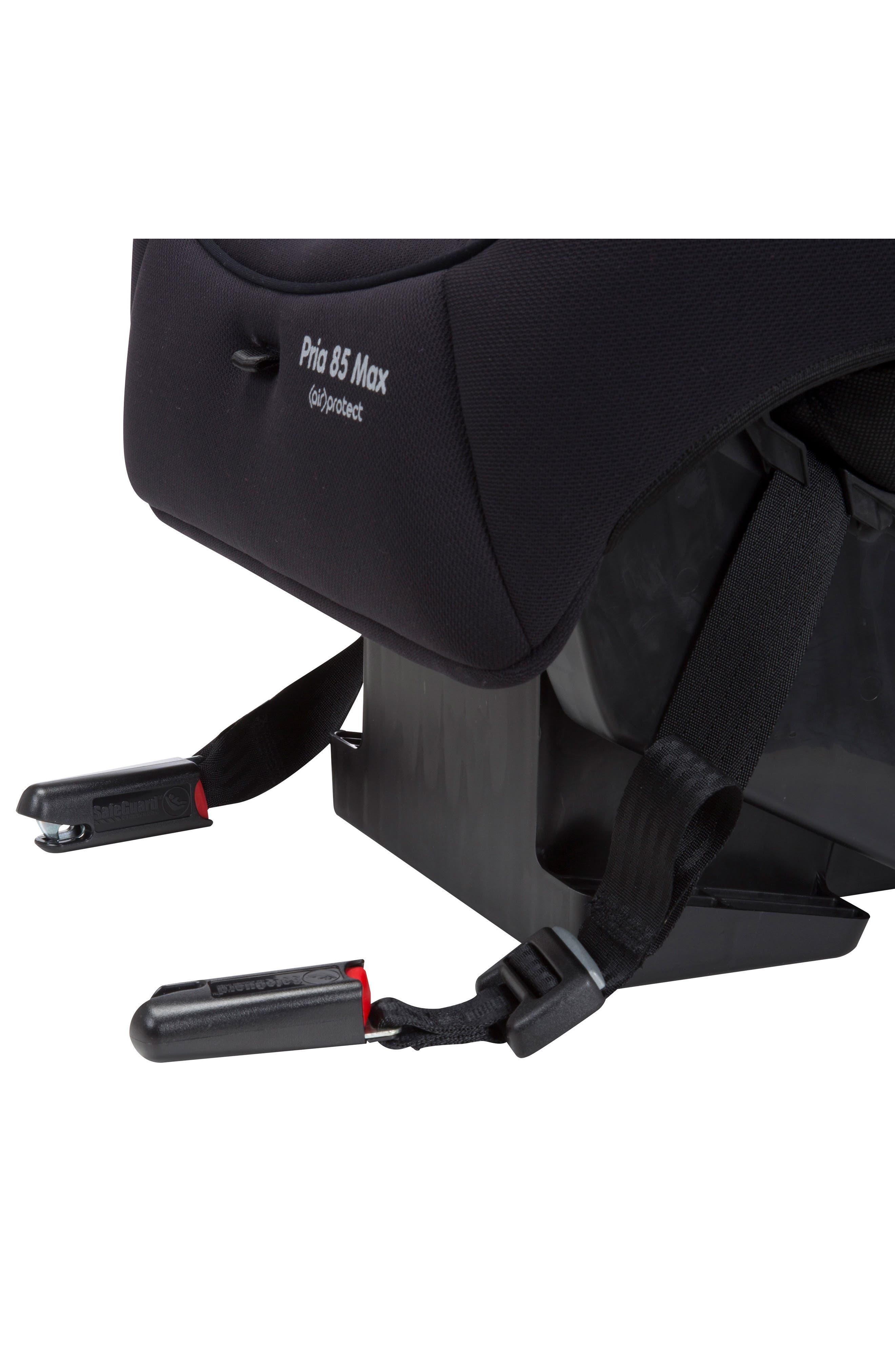 Pria<sup>™</sup> 85 Max Convertible Car Seat,                             Alternate thumbnail 4, color,                             NIGHT BLACK
