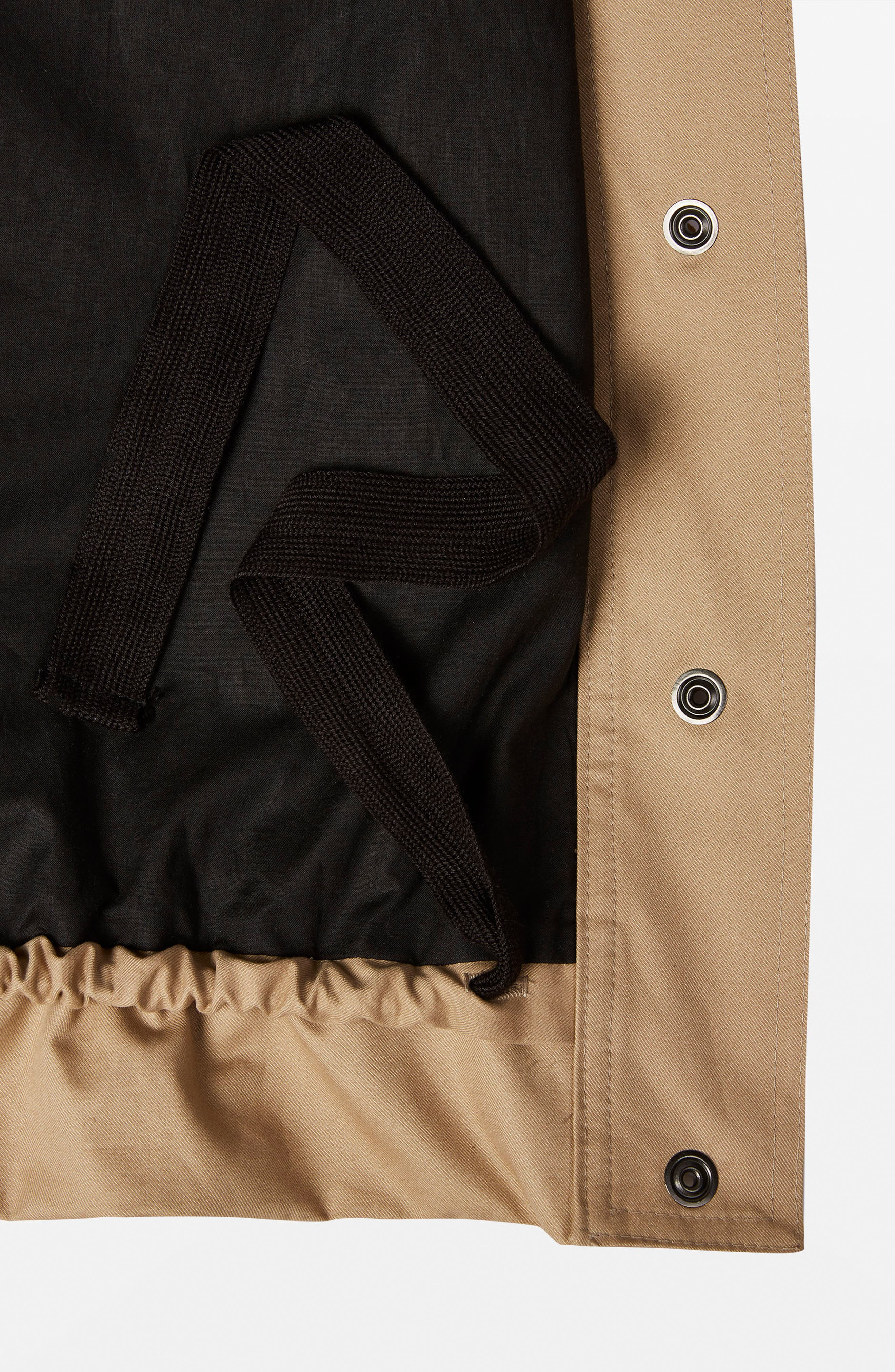 Cropped Parka,                             Alternate thumbnail 2, color,                             250