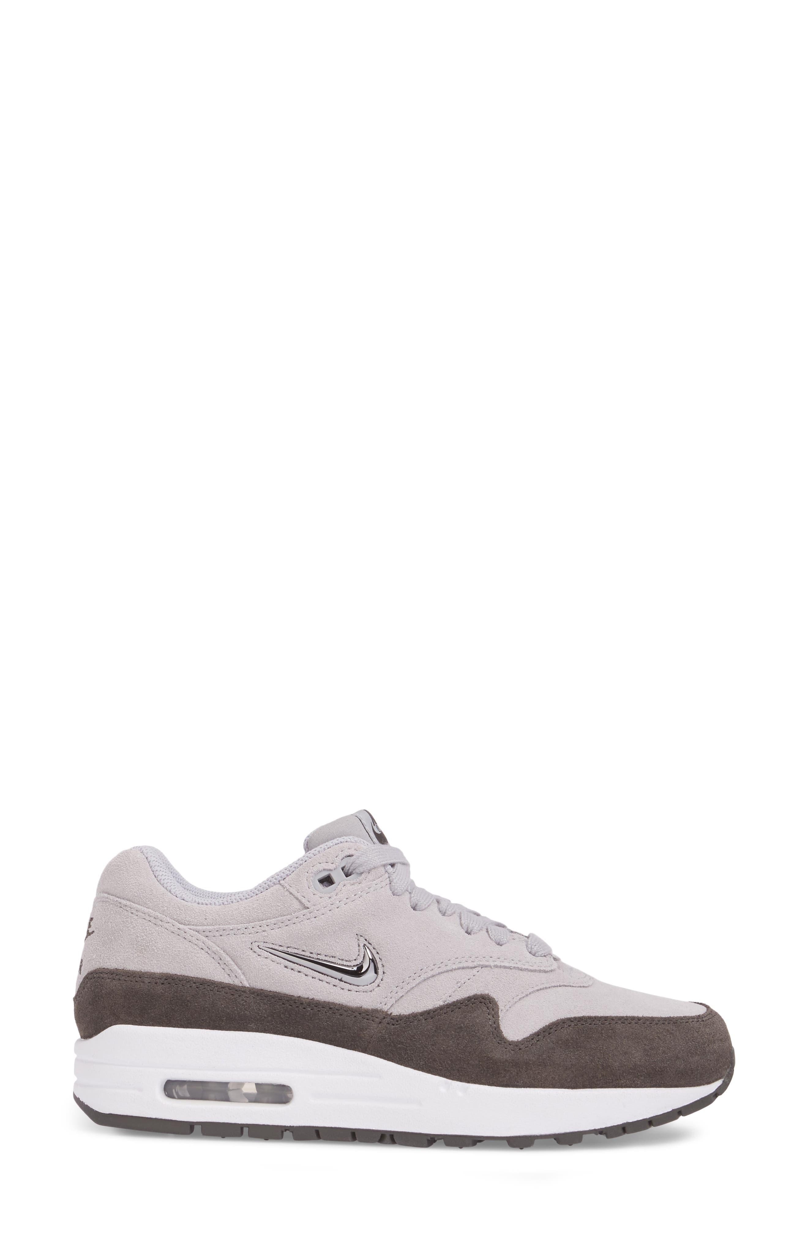 Air Max 1 Premium SC Sneaker,                             Alternate thumbnail 3, color,                             020