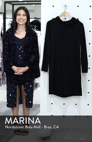 Hooded French Terry Dress, sales video thumbnail